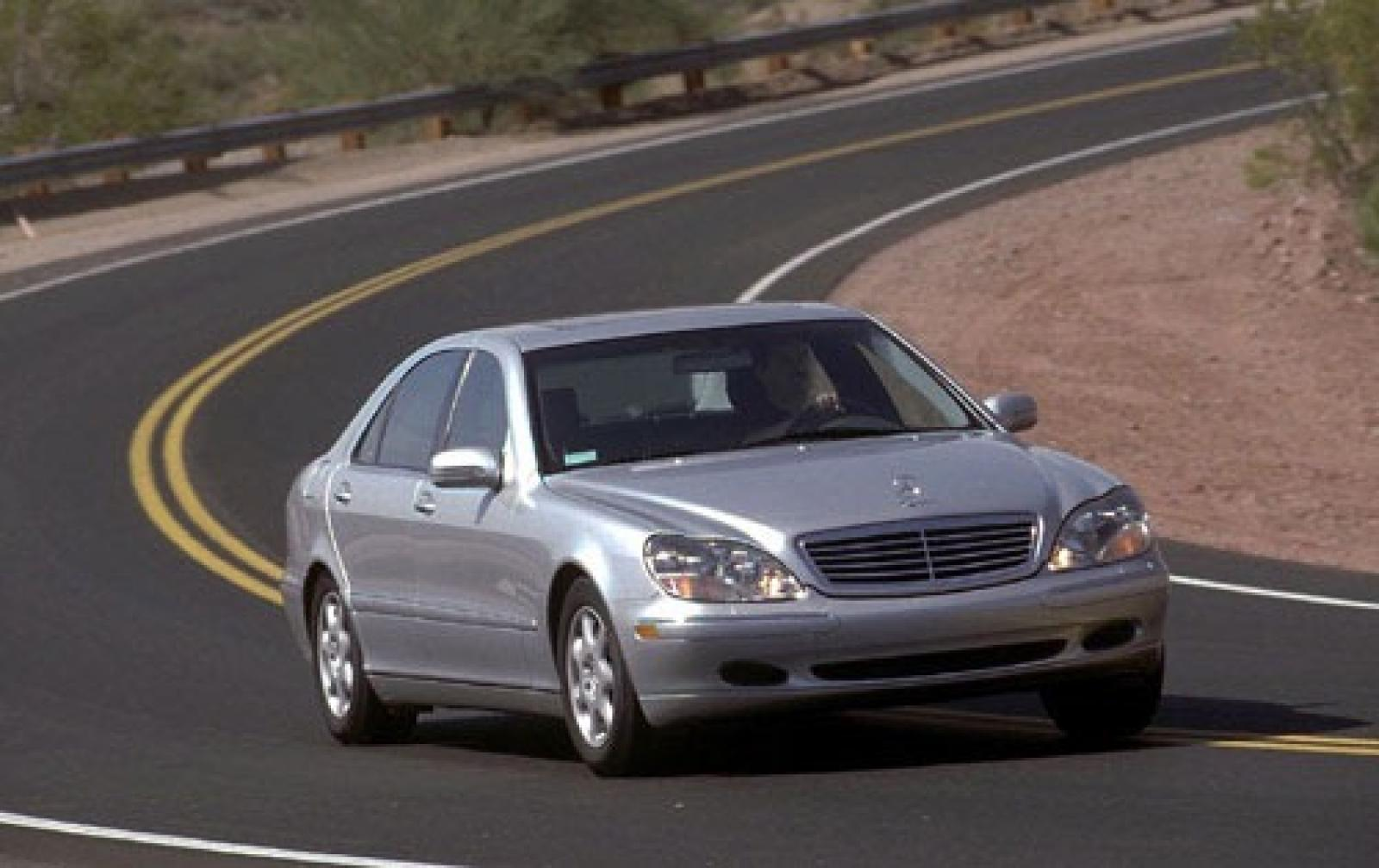 2002 mercedes benz s class information and photos zombiedrive. Black Bedroom Furniture Sets. Home Design Ideas