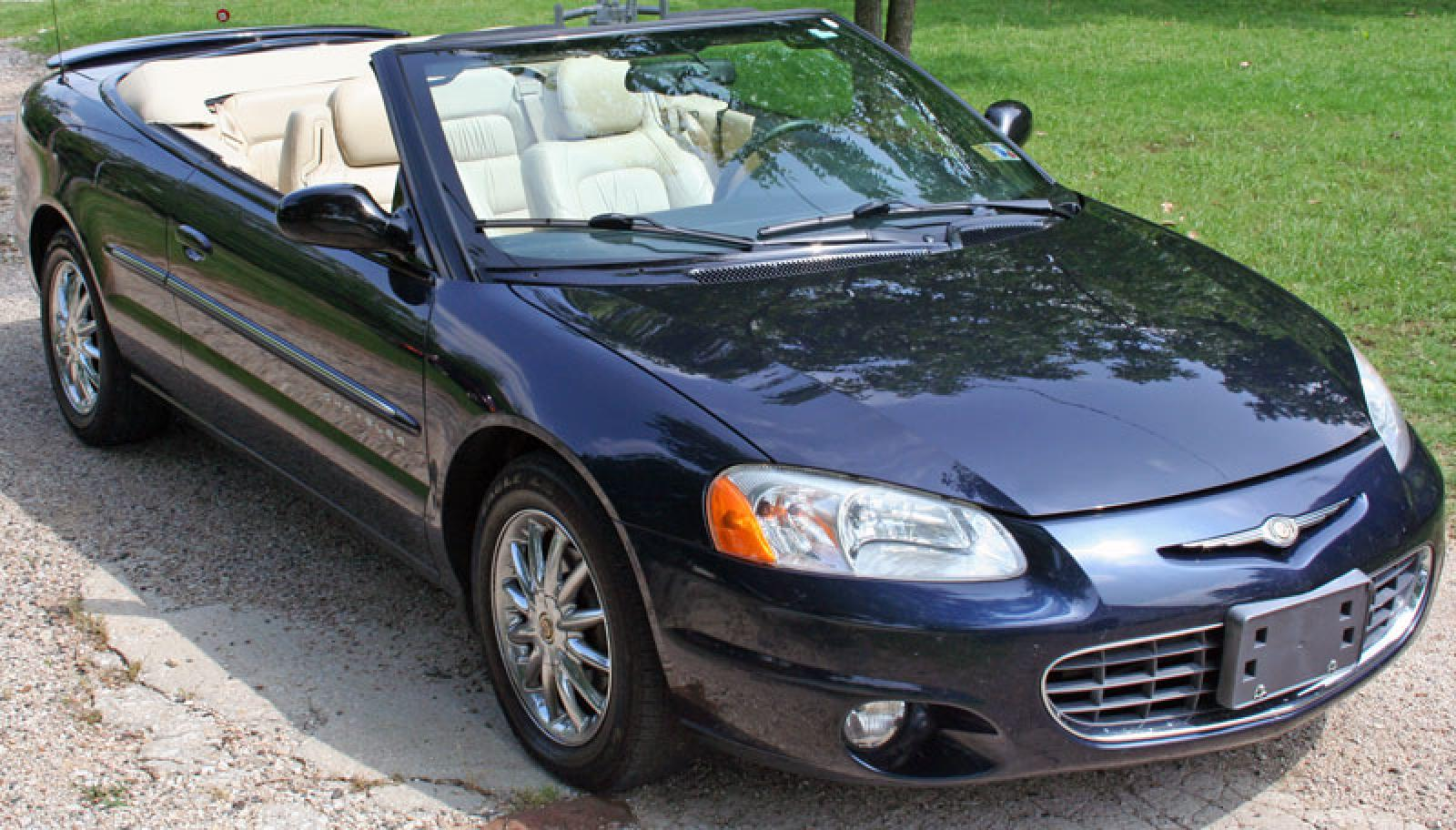 2001 chrysler sebring information and photos zombiedrive. Black Bedroom Furniture Sets. Home Design Ideas