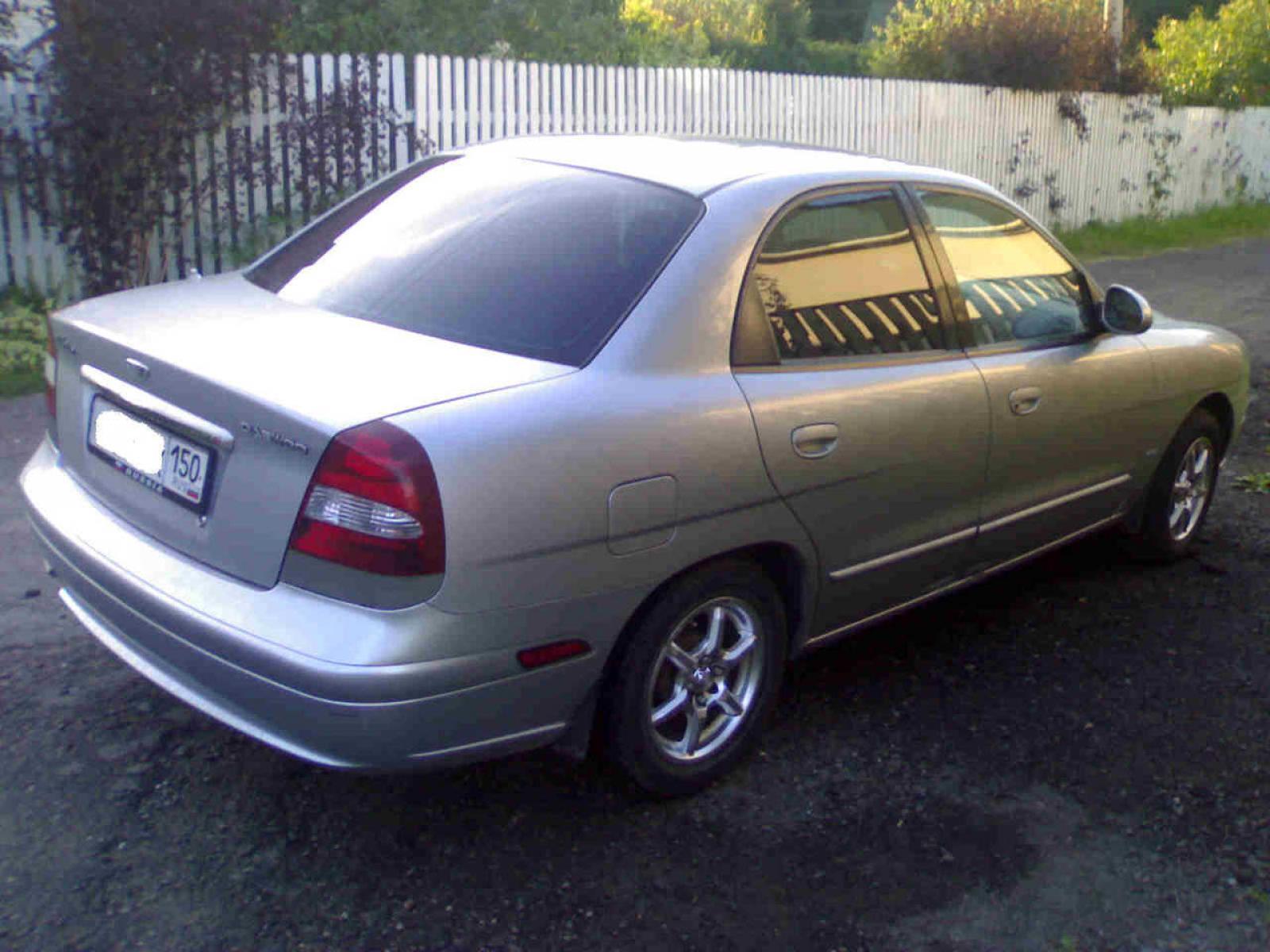 800 1024 1280 1600 origin 2001 Daewoo Nubira ...