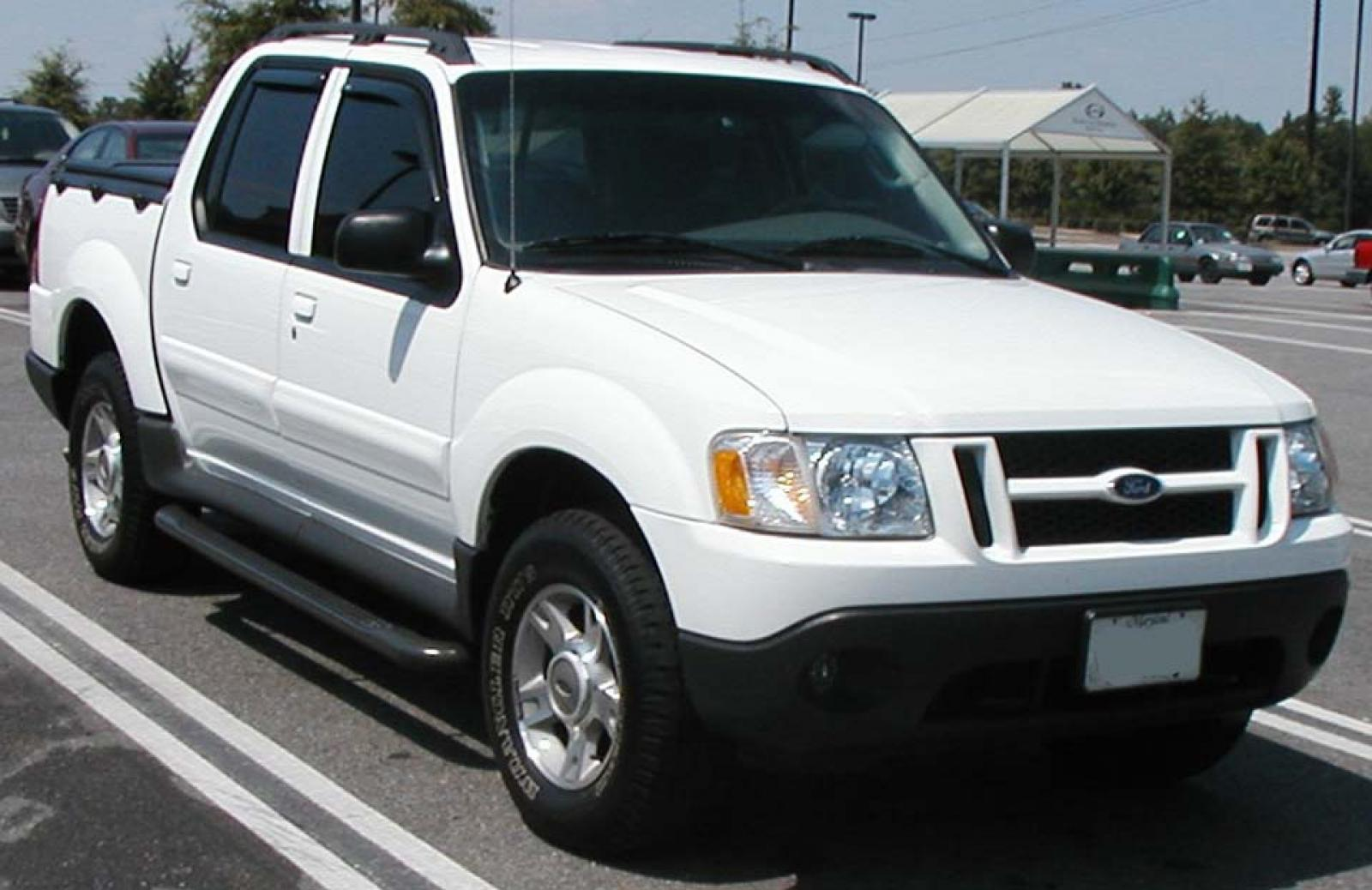 2001 ford explorer sport trac information and photos zombiedrive. Black Bedroom Furniture Sets. Home Design Ideas
