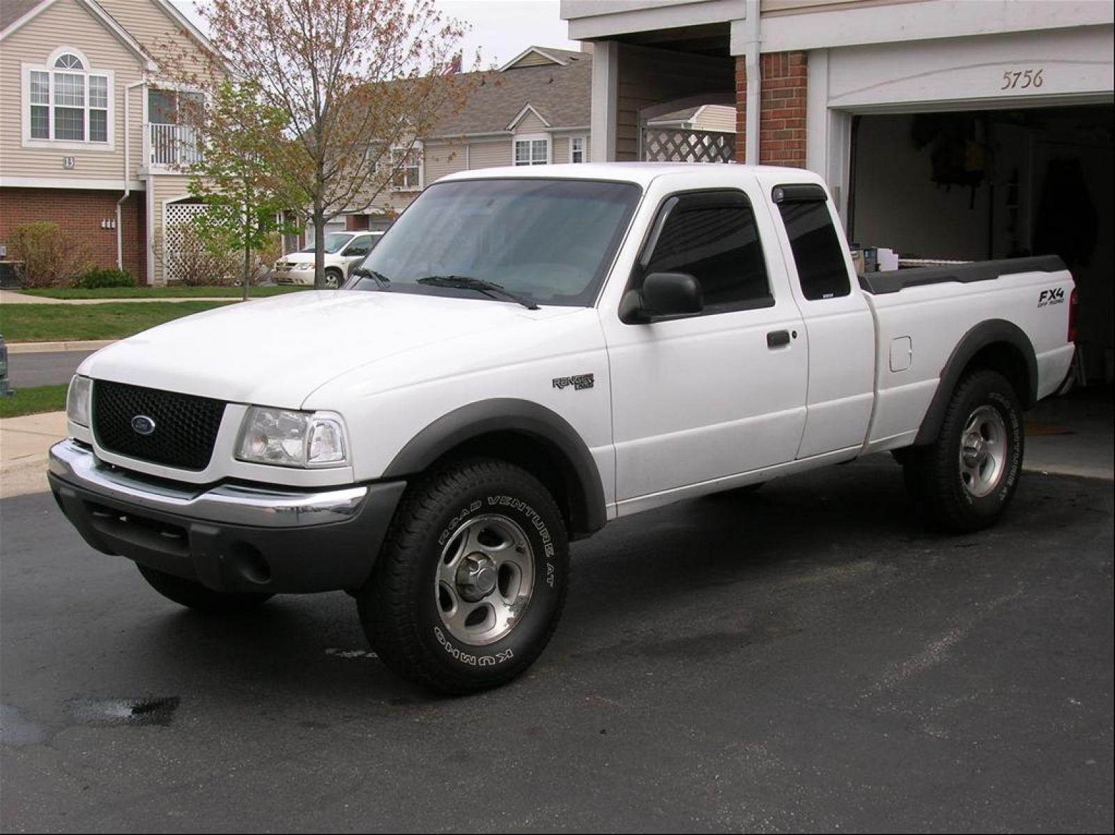 2001 Ford Ranger - Information and photos - Zomb Drive