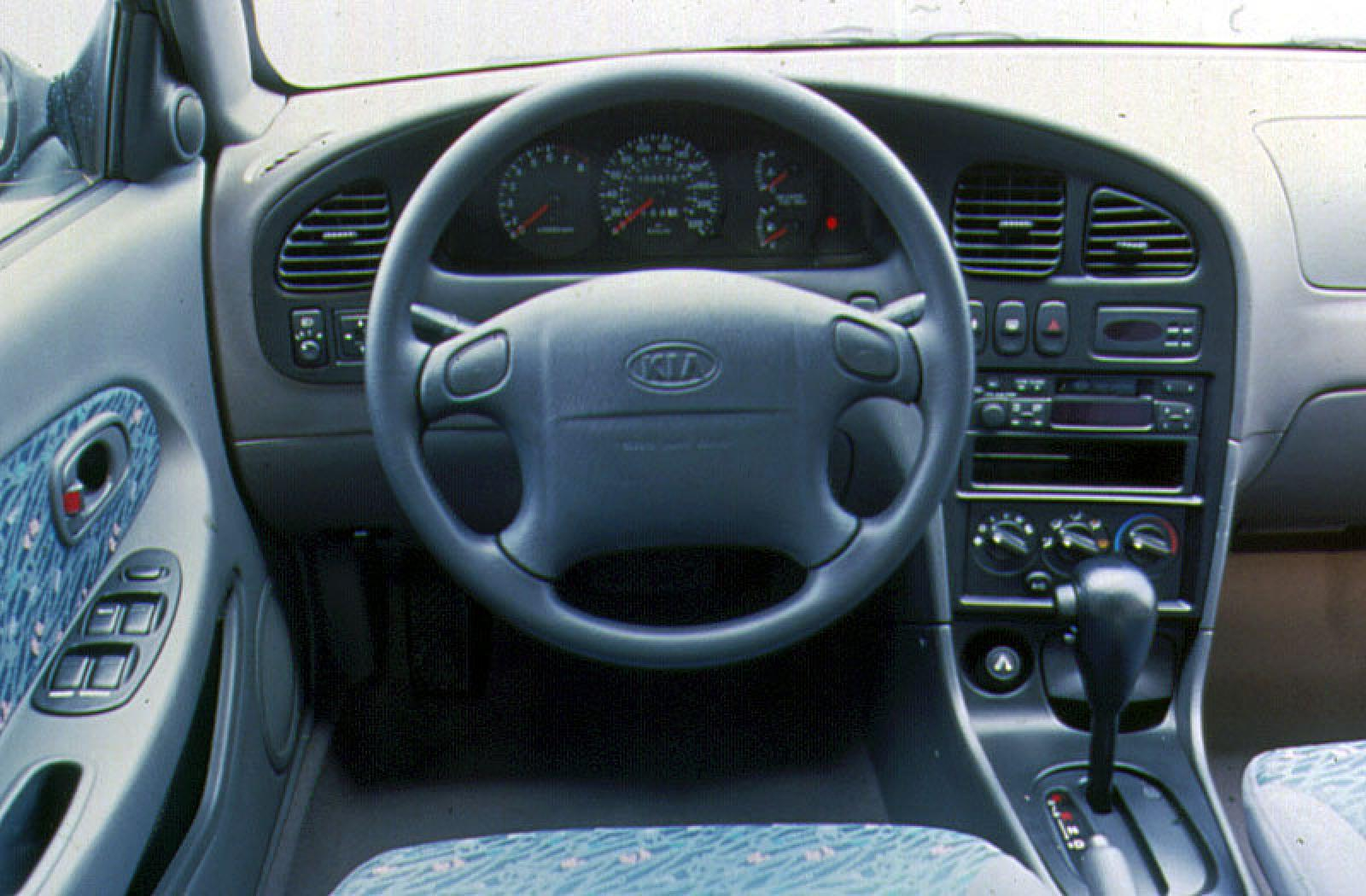 2001 kia sephia information and photos zombiedrive