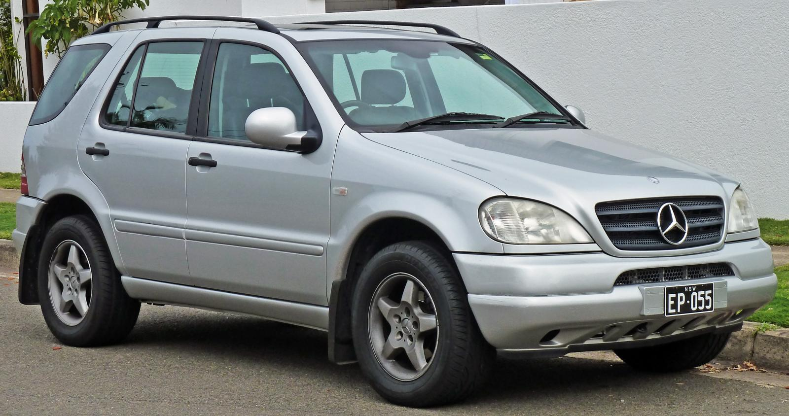 2001 mercedes benz m class information and photos