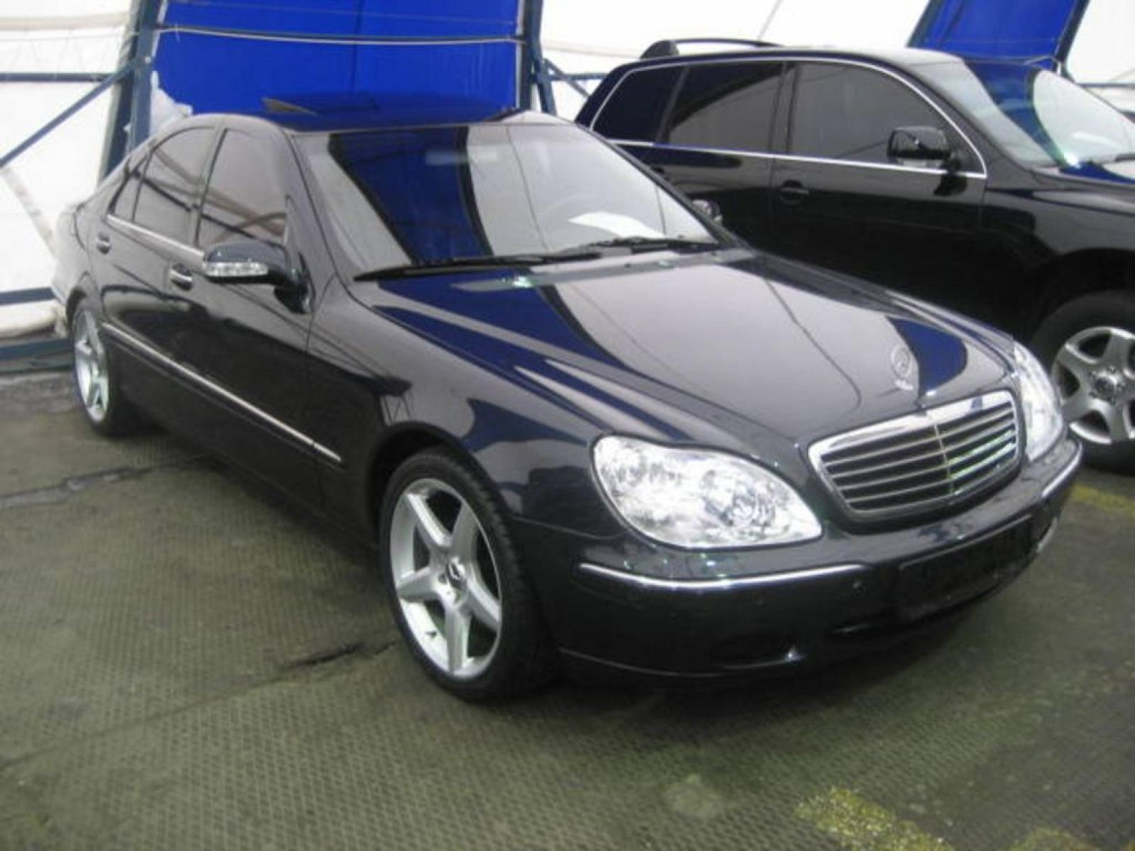 2001 mercedes benz s class information and photos