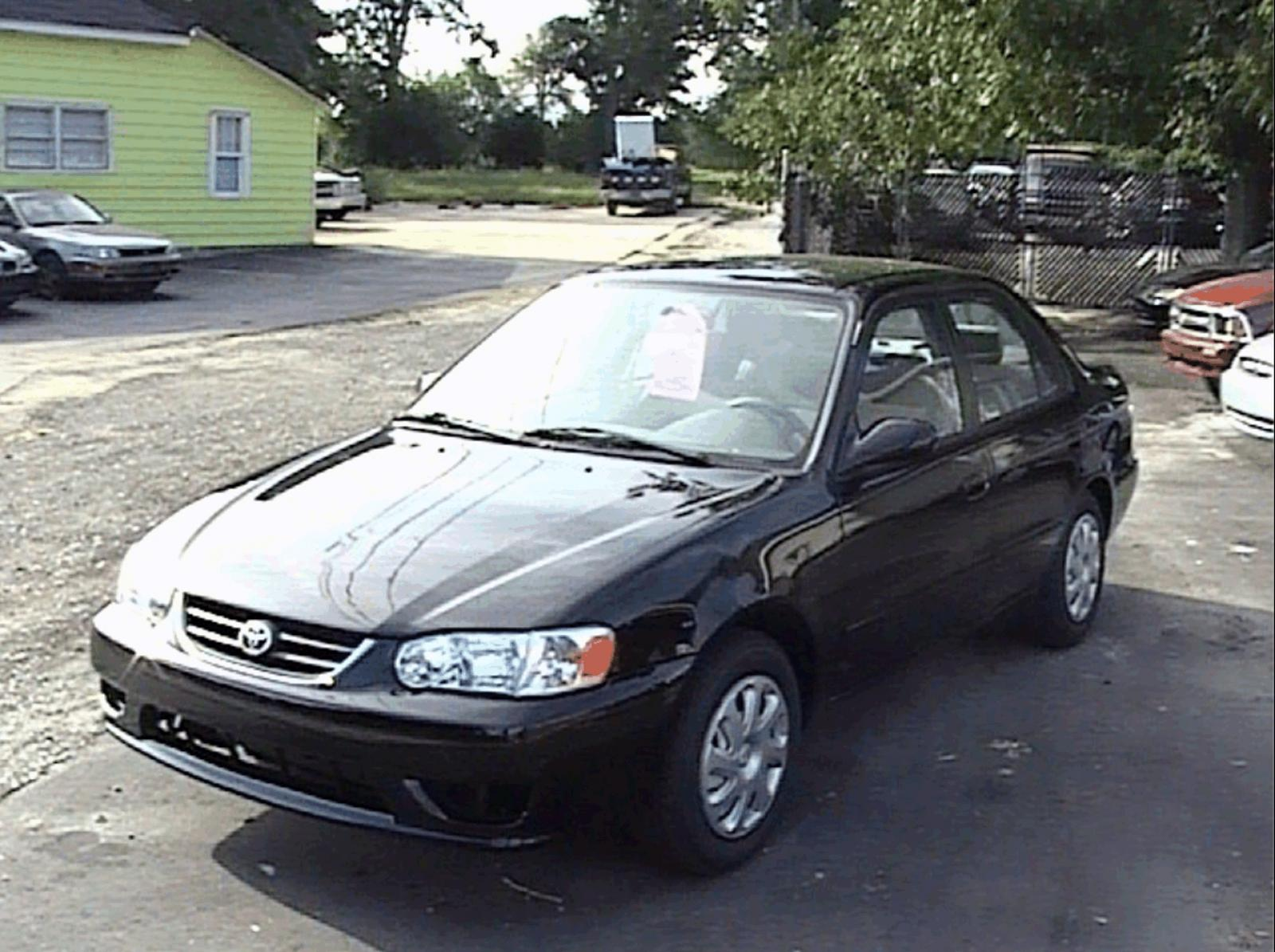 2001 Toyota Corolla Information And Photos Zombiedrive