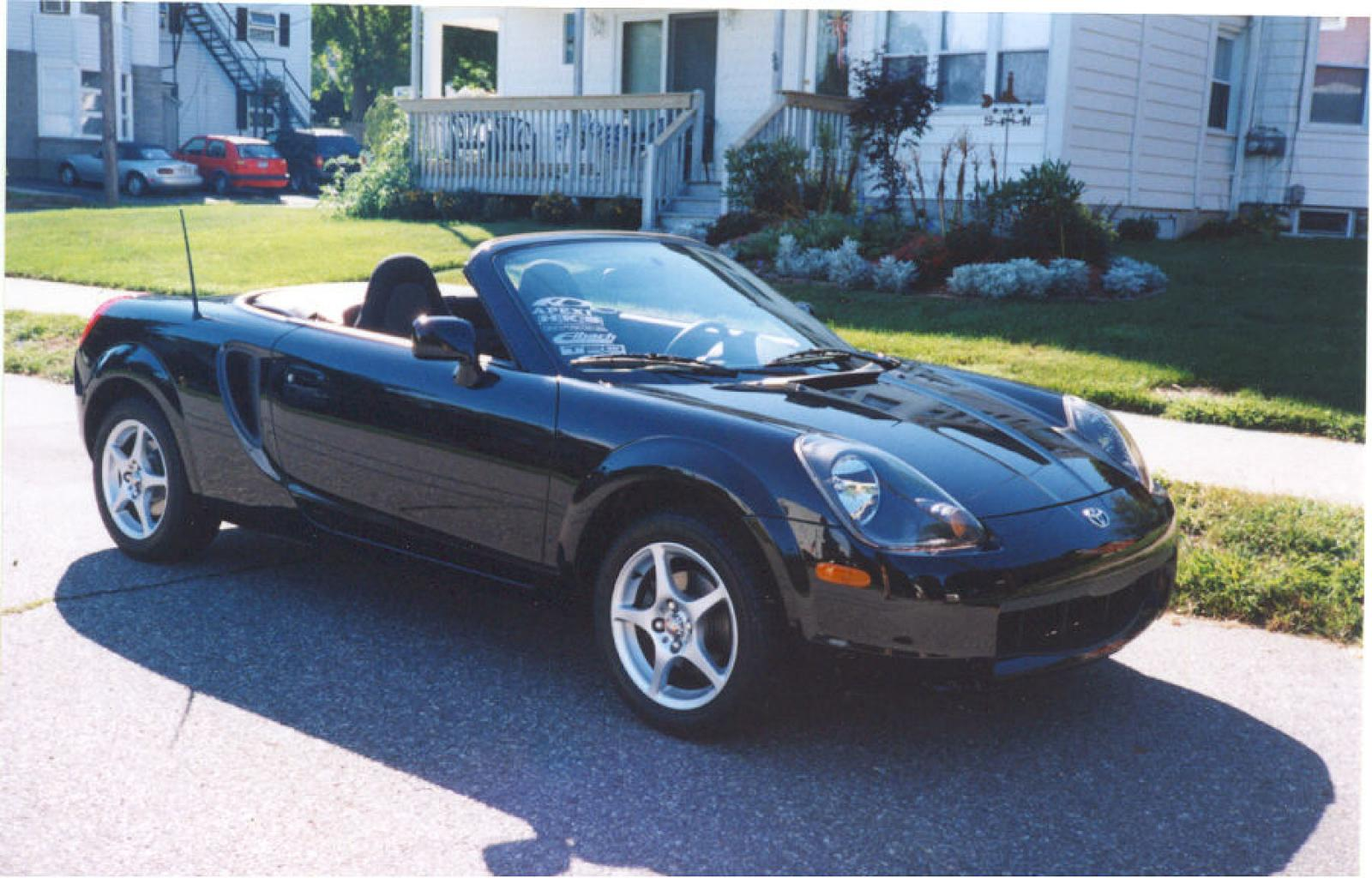 2001 Toyota Mr2 Spyder Information And Photos Zomb Drive