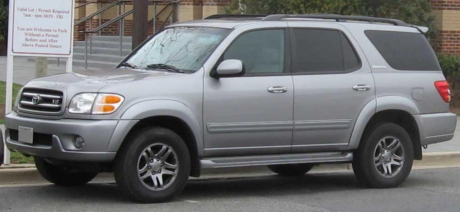 2001 toyota sequoia information and photos zombiedrive. Black Bedroom Furniture Sets. Home Design Ideas