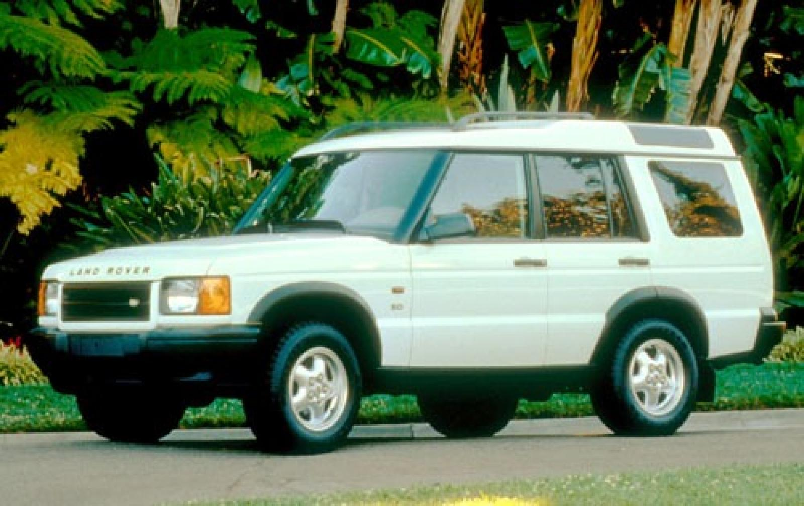2001 Land Rover Discovery Series Ii Green 200 Interior And Exterior Images