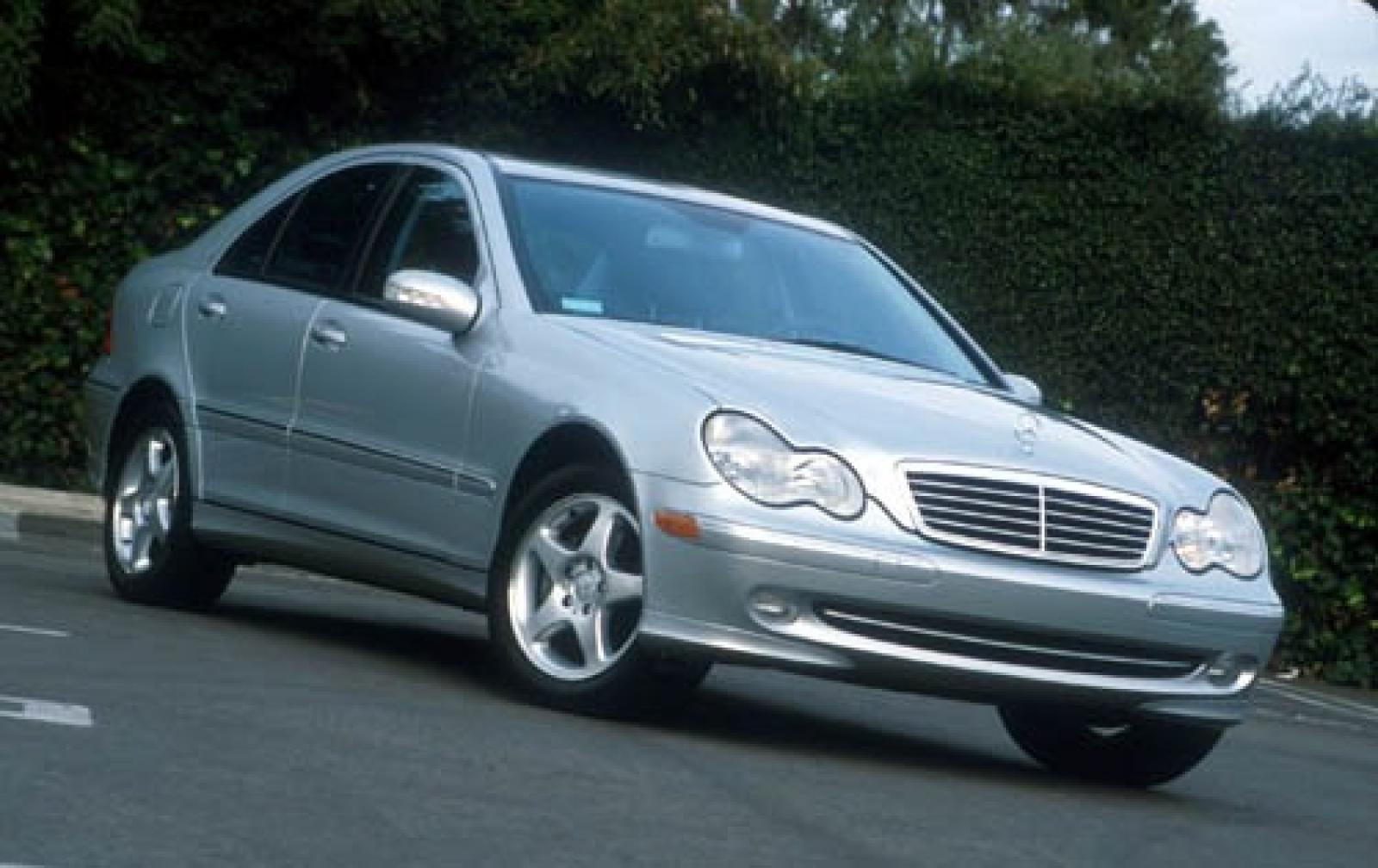 2003 mercedes benz c class information and photos for Mercedes benz suv 2001
