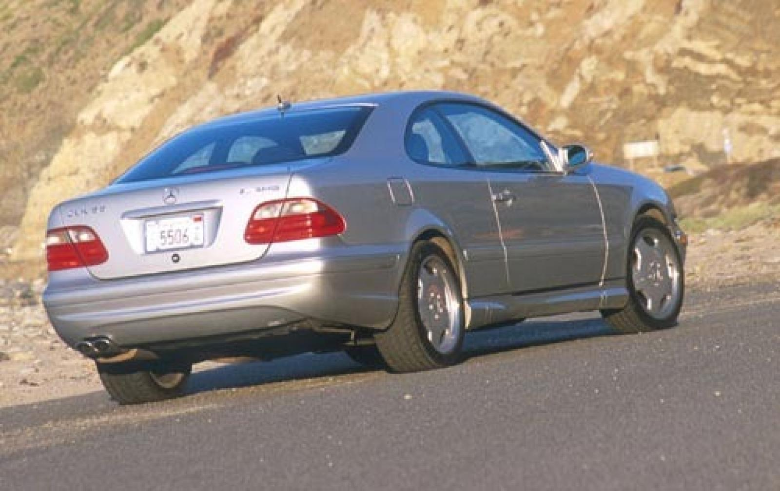 2002 mercedes benz clk class information and photos for Mercedes benz clk 2002