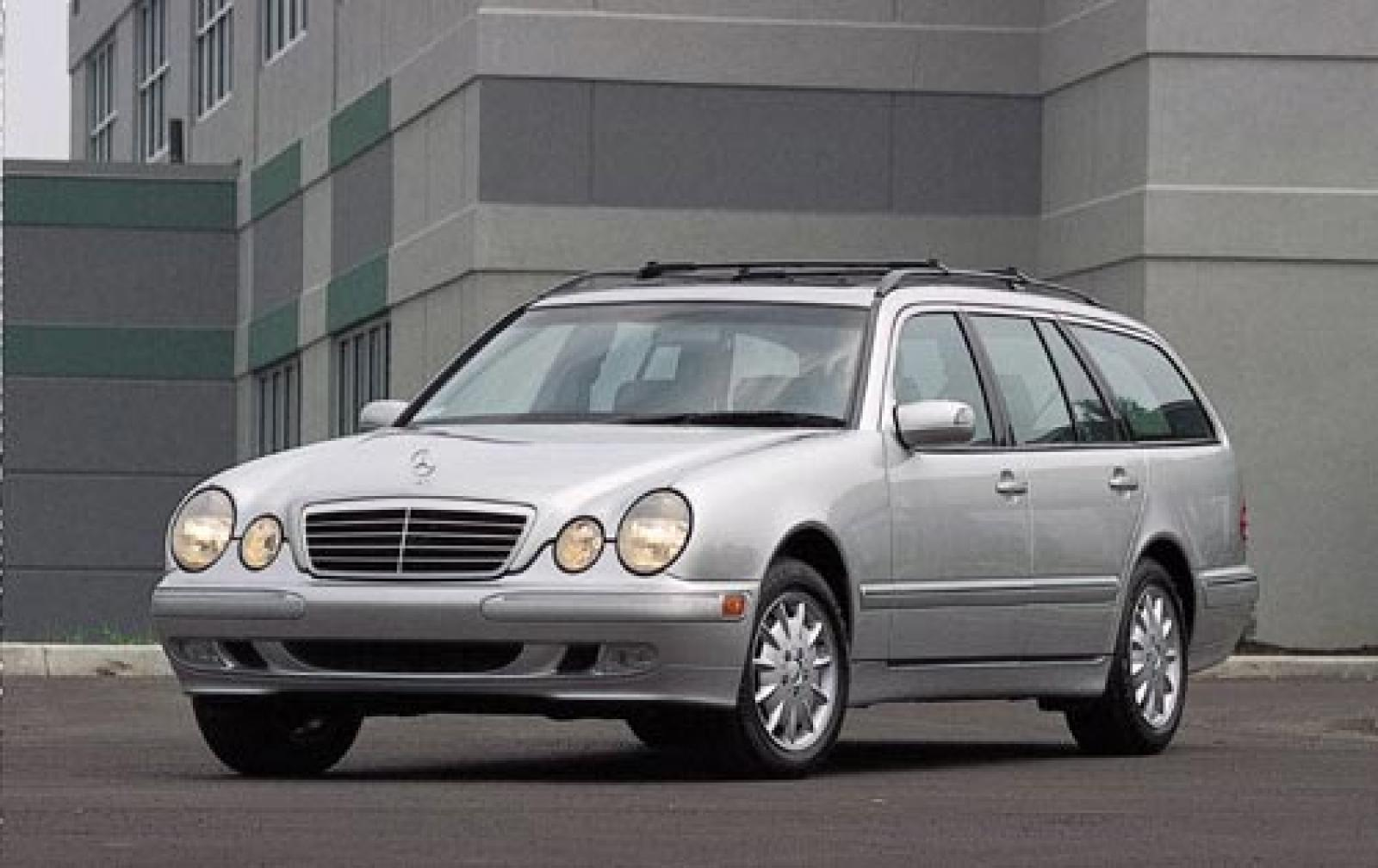 2003 mercedes benz e class information and photos for Mercedes benz wagons