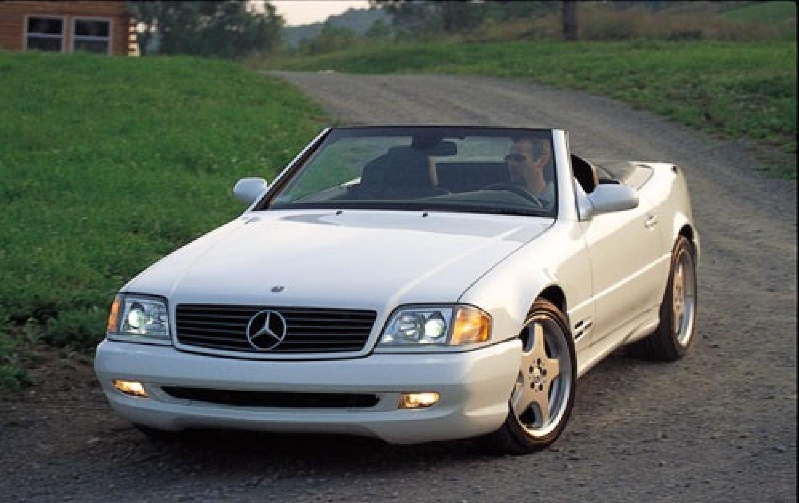 2002 mercedes benz sl class information and photos for Mercedes benz sl convertible for sale