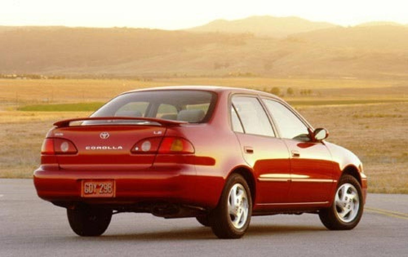 2001 Toyota Corolla Information And Photos Zomb Drive