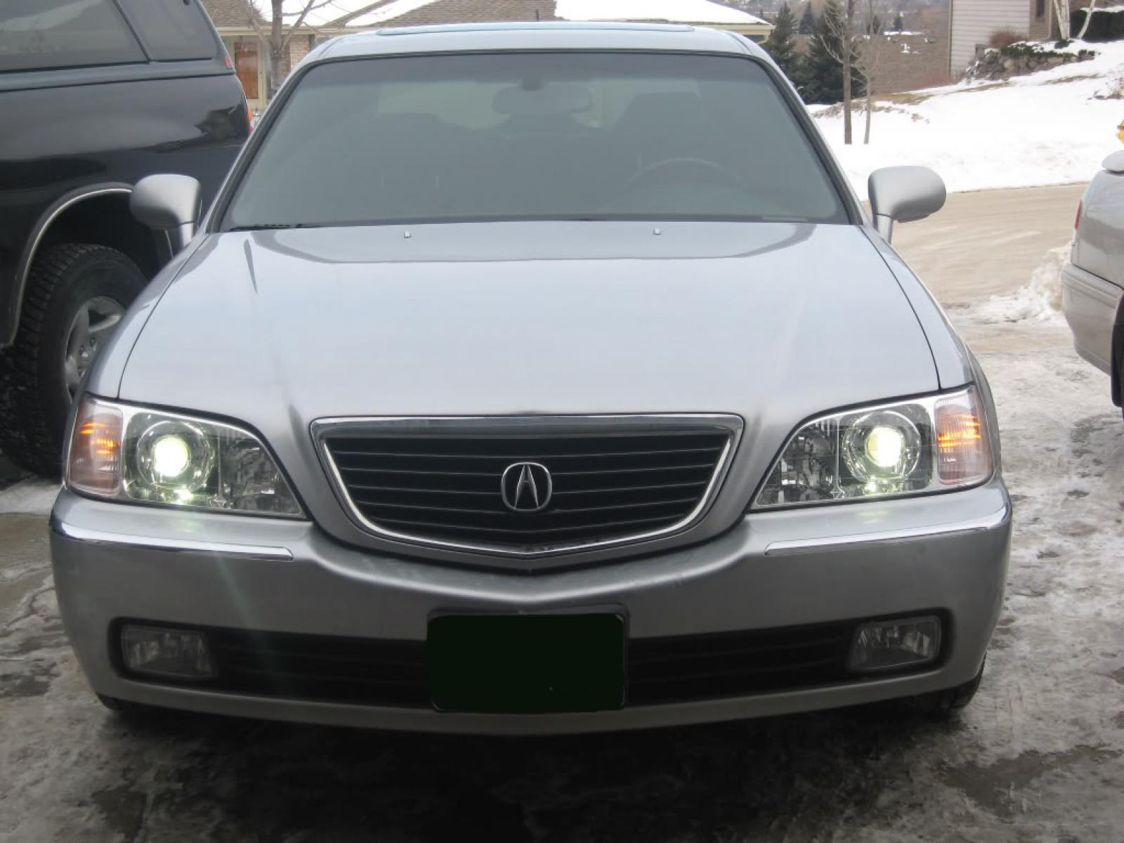 2002 Acura RL - Information and photos - ZombieDrive