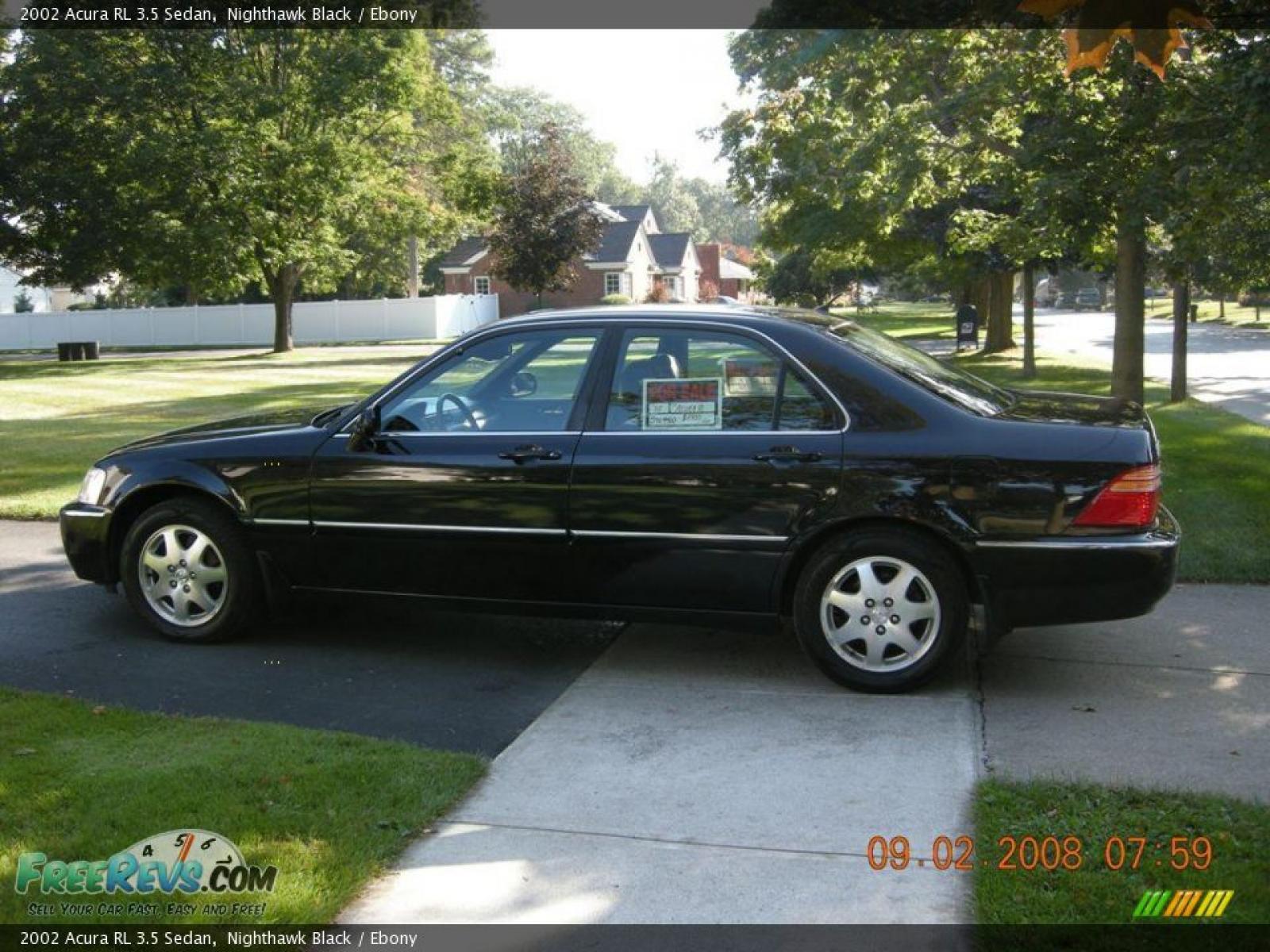 2002 Acura RL - Information and photos - ZombieDrive