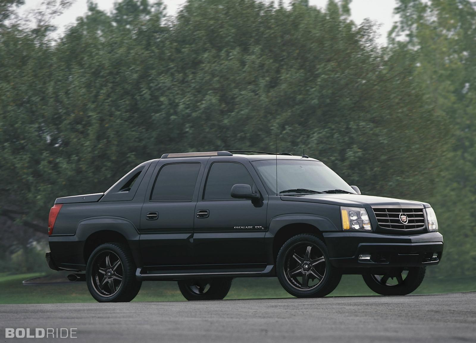 2002 cadillac escalade ext information and photos. Black Bedroom Furniture Sets. Home Design Ideas