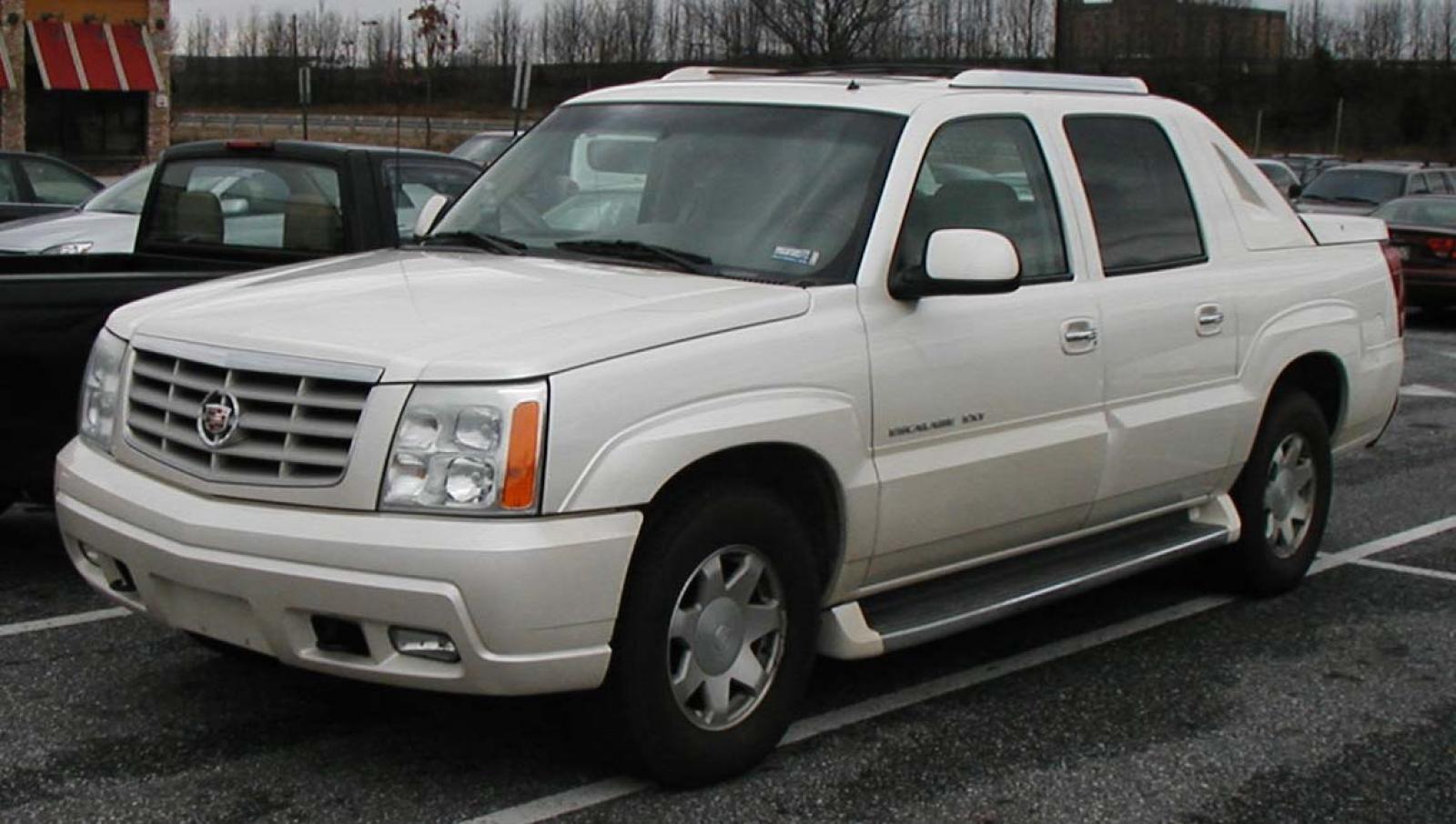 2002 Cadillac Escalade Ext Information And Photos