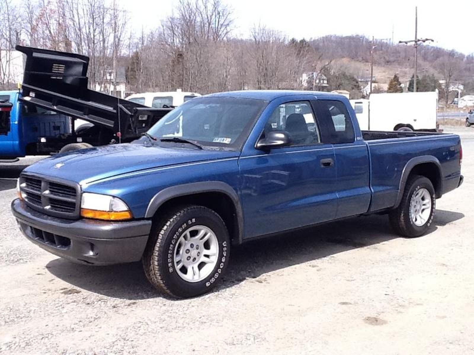 Dodge Dakota on 2002 Dodge Dakota Sport Blue