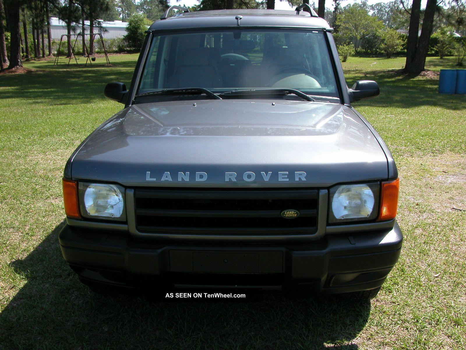 2002 land rover discovery series ii information and photos zombiedrive. Black Bedroom Furniture Sets. Home Design Ideas