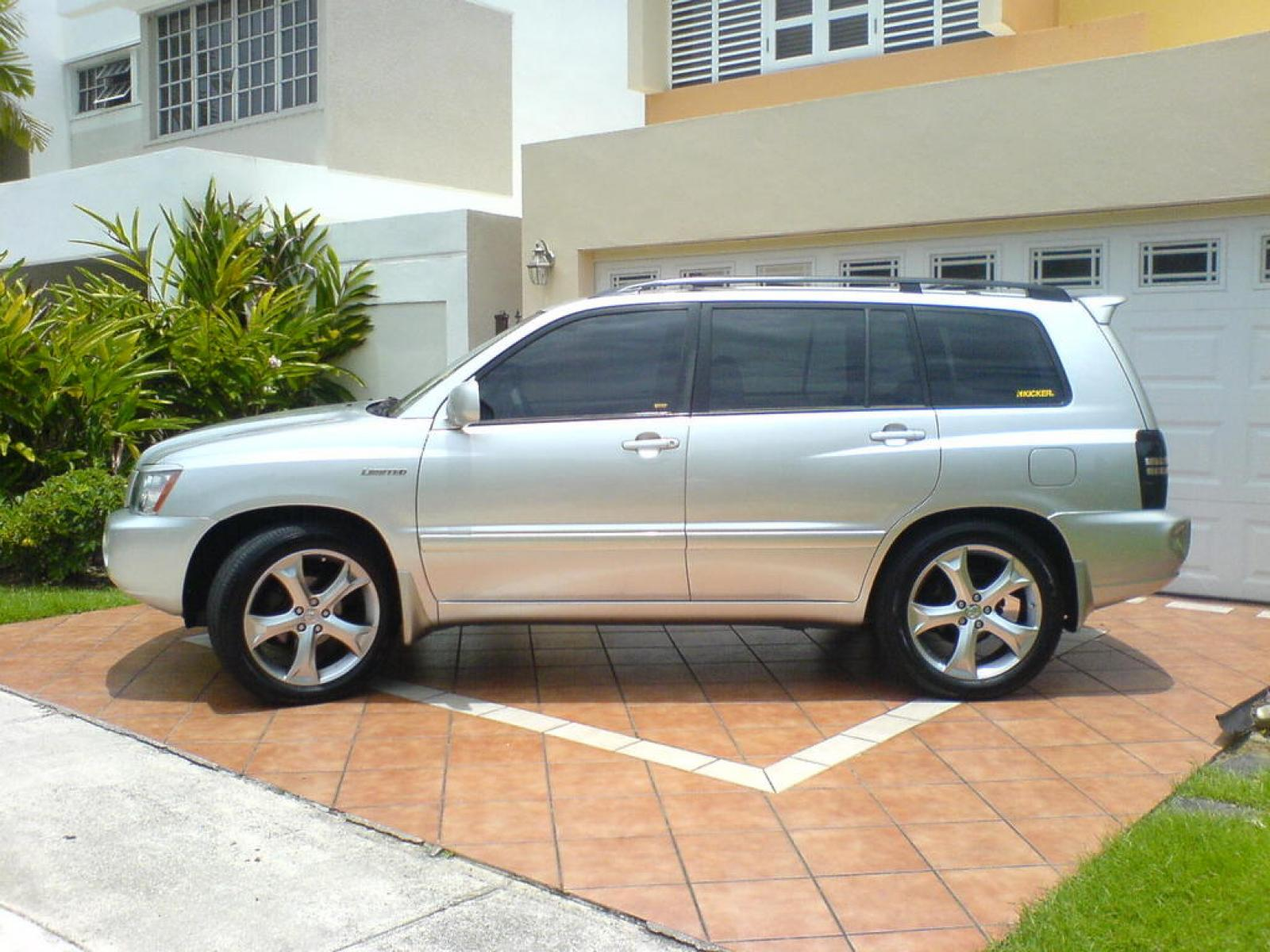 2002 toyota highlander information and photos zombiedrive
