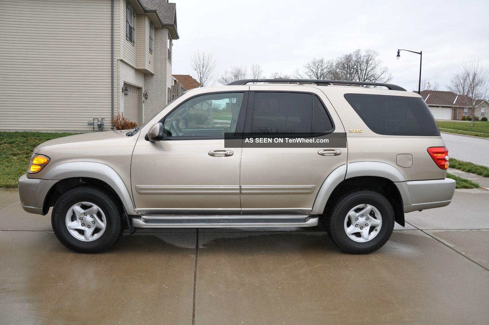2002 toyota sequoia information and photos zombiedrive. Black Bedroom Furniture Sets. Home Design Ideas