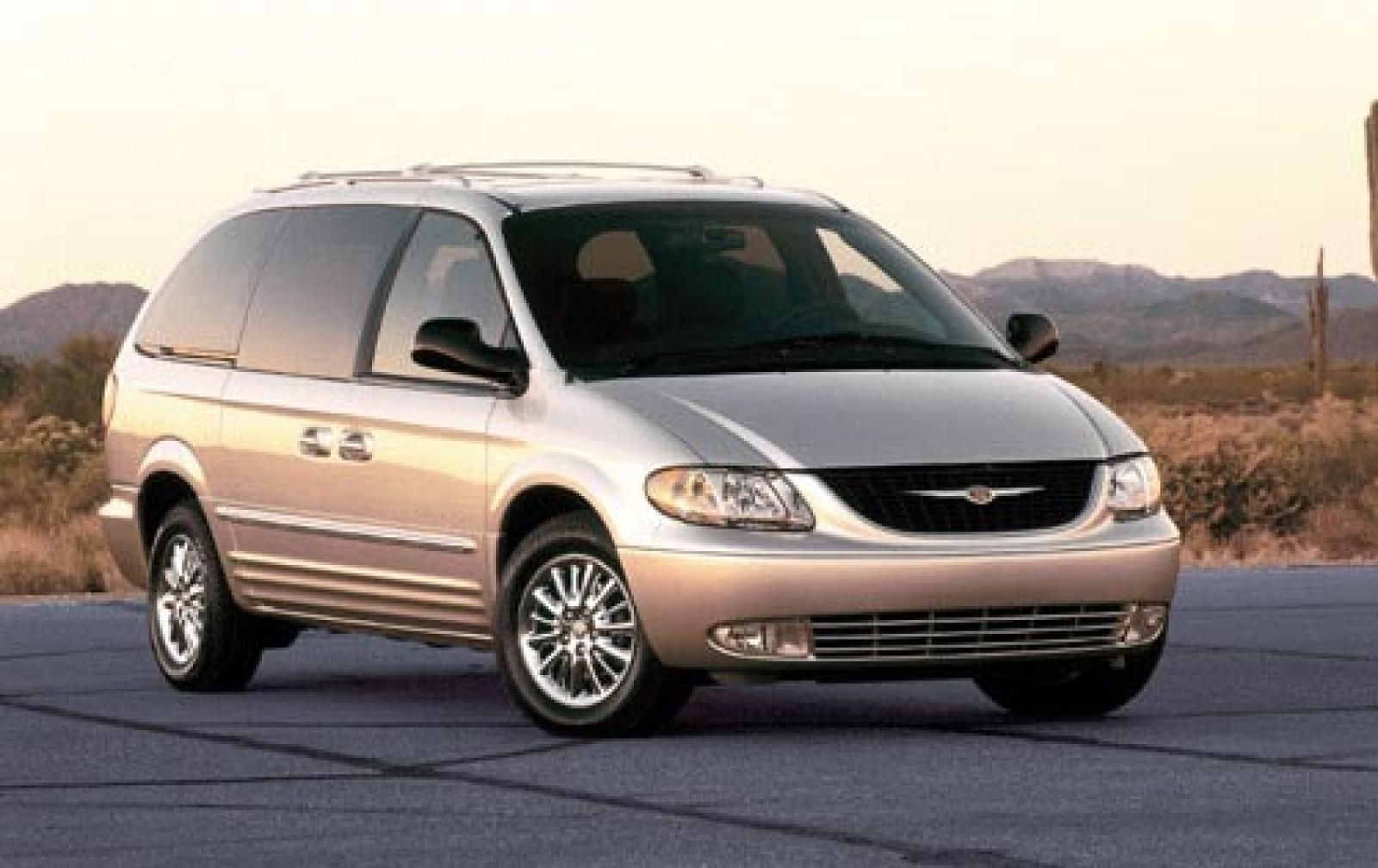 2002 chrysler town and country information and photos zombiedrive. Black Bedroom Furniture Sets. Home Design Ideas