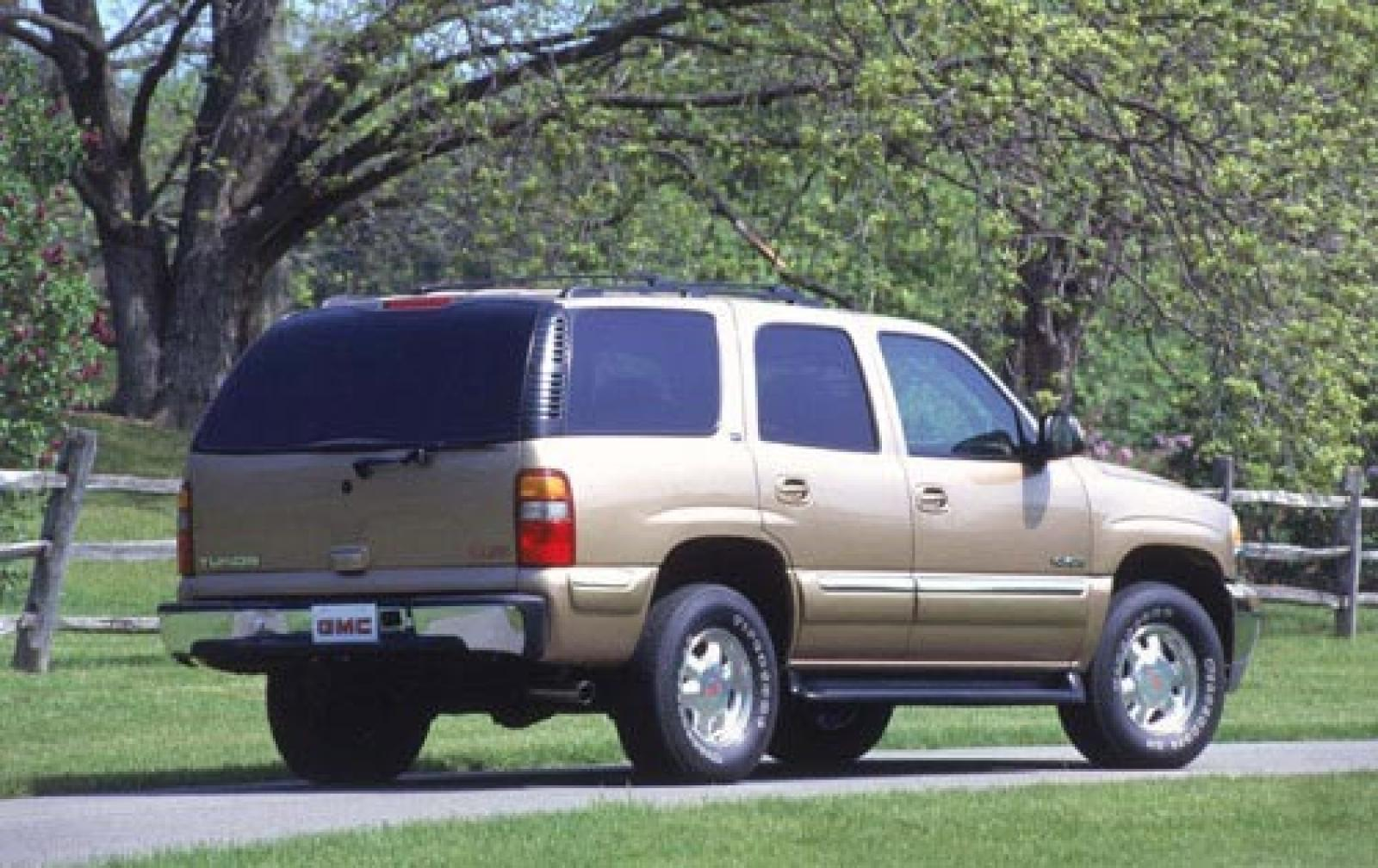 2002 gmc yukon information and photos zombiedrive. Black Bedroom Furniture Sets. Home Design Ideas
