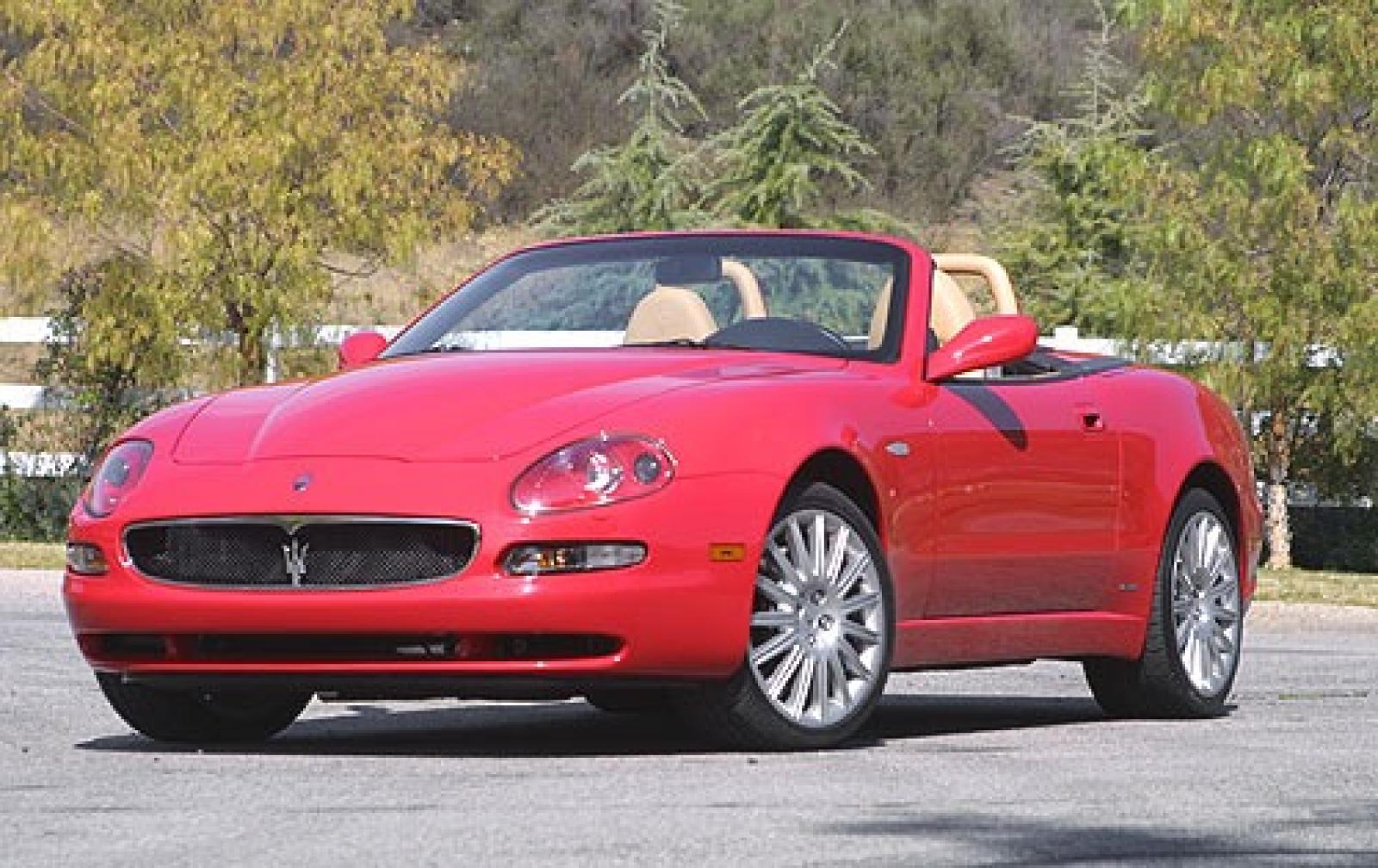 2005 maserati spyder information and photos zombiedrive. Black Bedroom Furniture Sets. Home Design Ideas