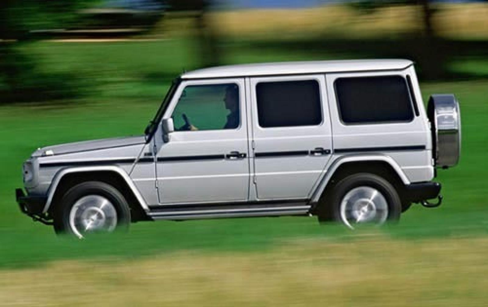 2005 mercedes benz g class information and photos for Mercedes benz g class used 2003