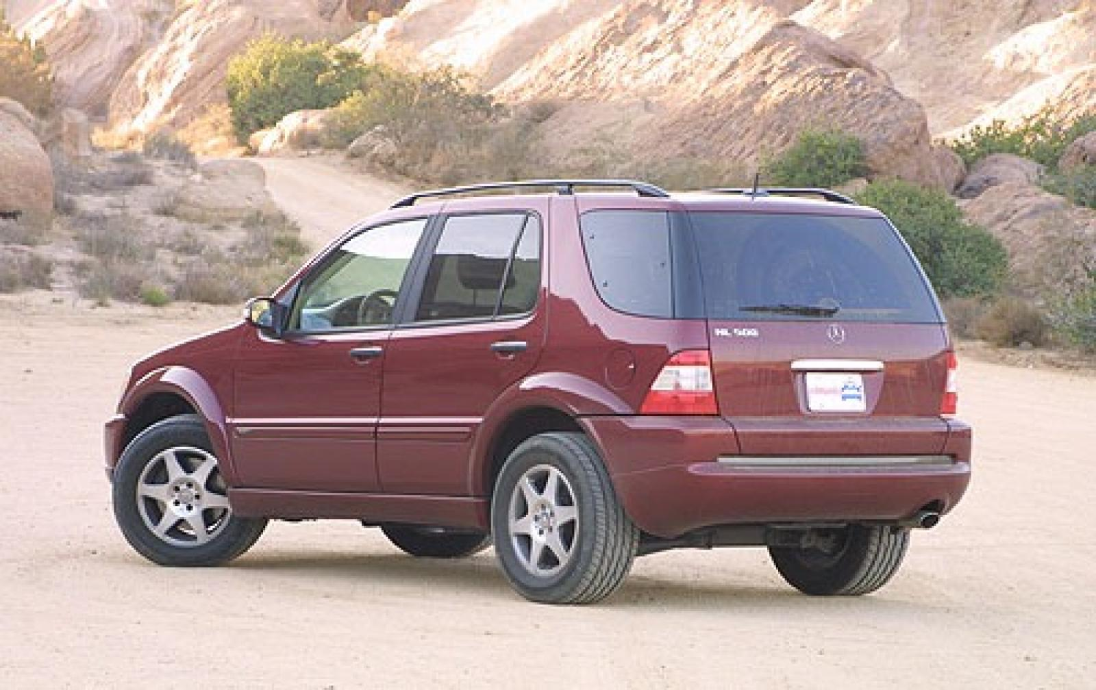 2003 mercedes benz m class information and photos for Mercedes benz suv 2002