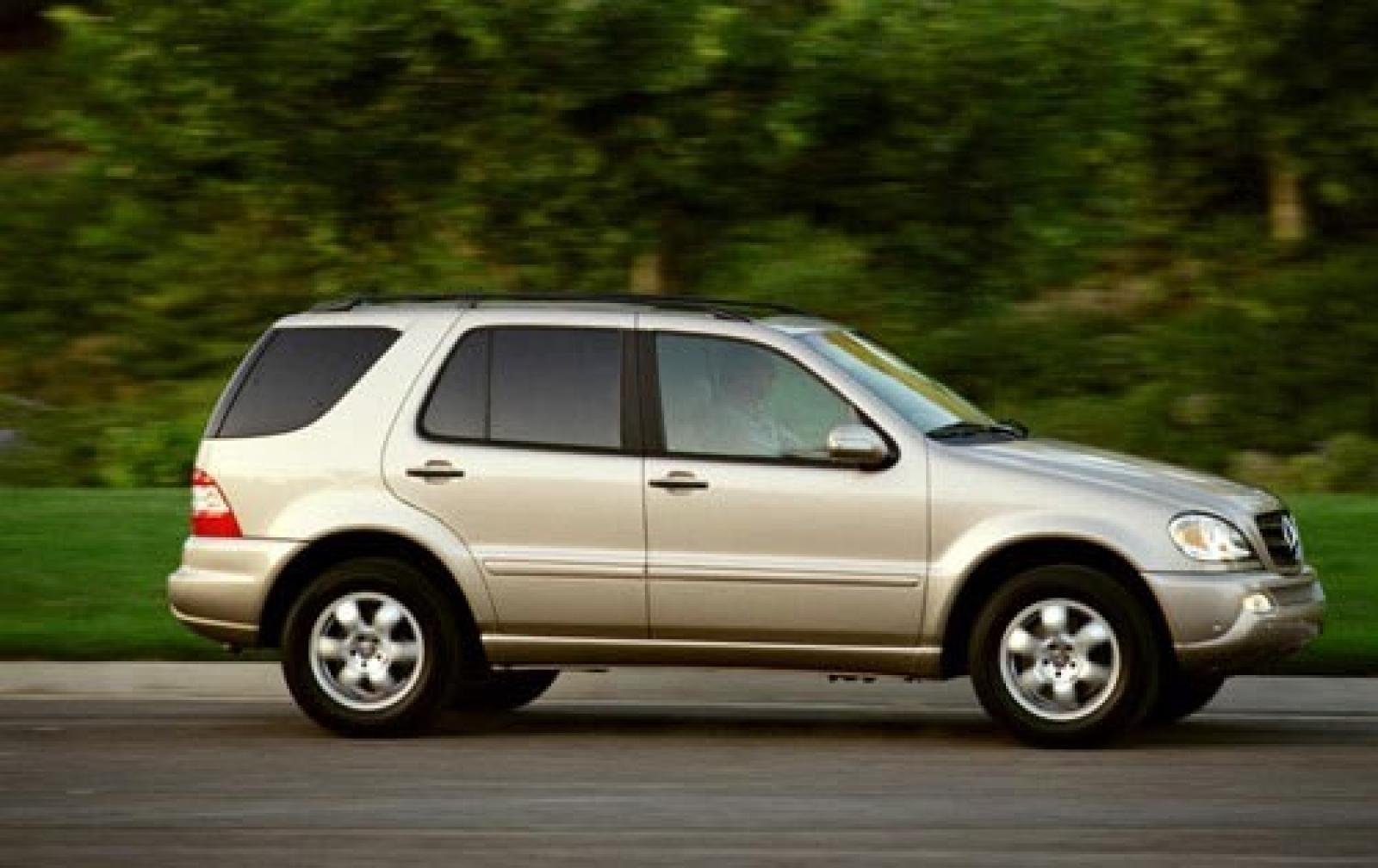 2003 mercedes benz m class information and photos for 2002 mercedes benz suv