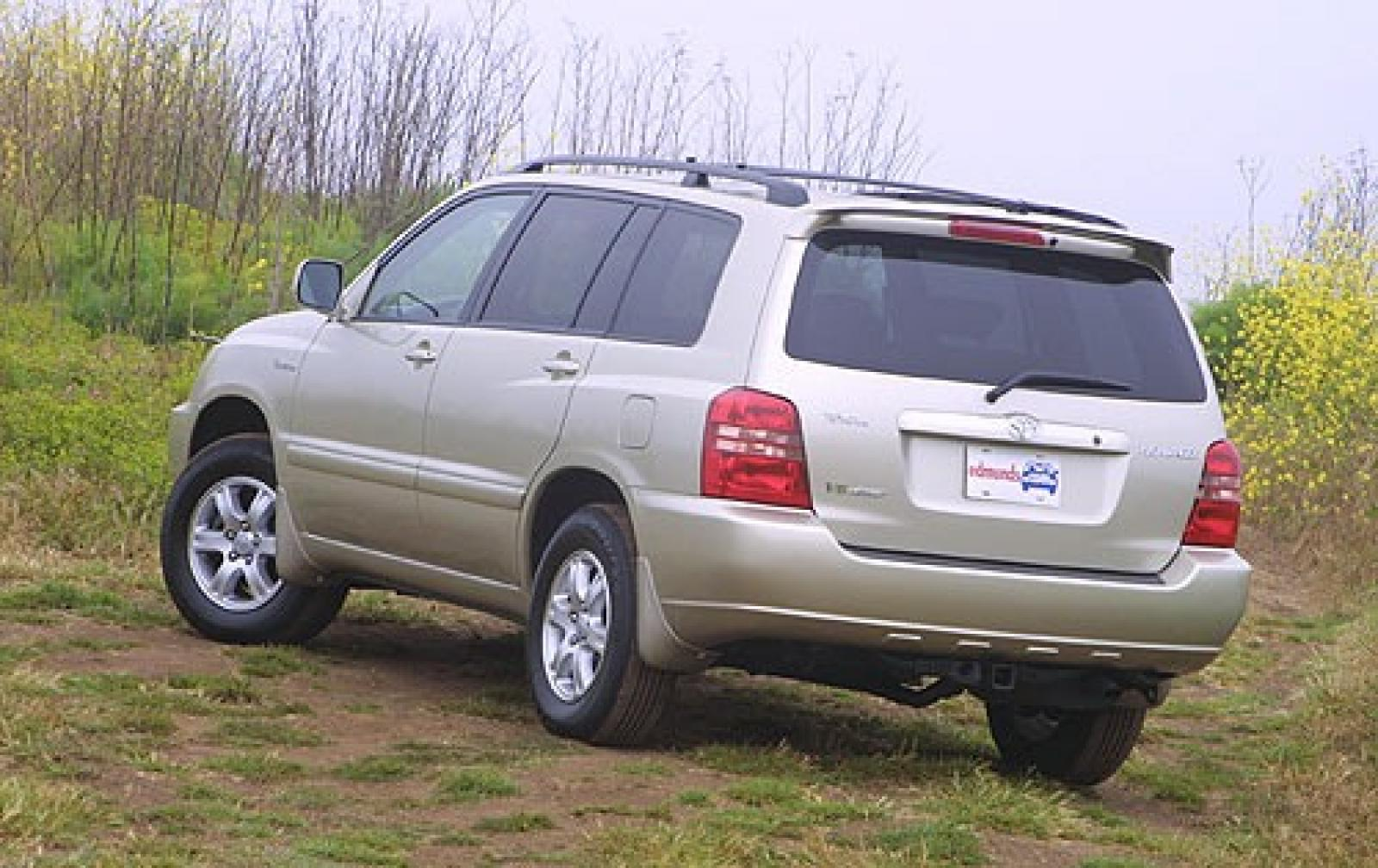 2003 toyota highlander information and photos zombiedrive
