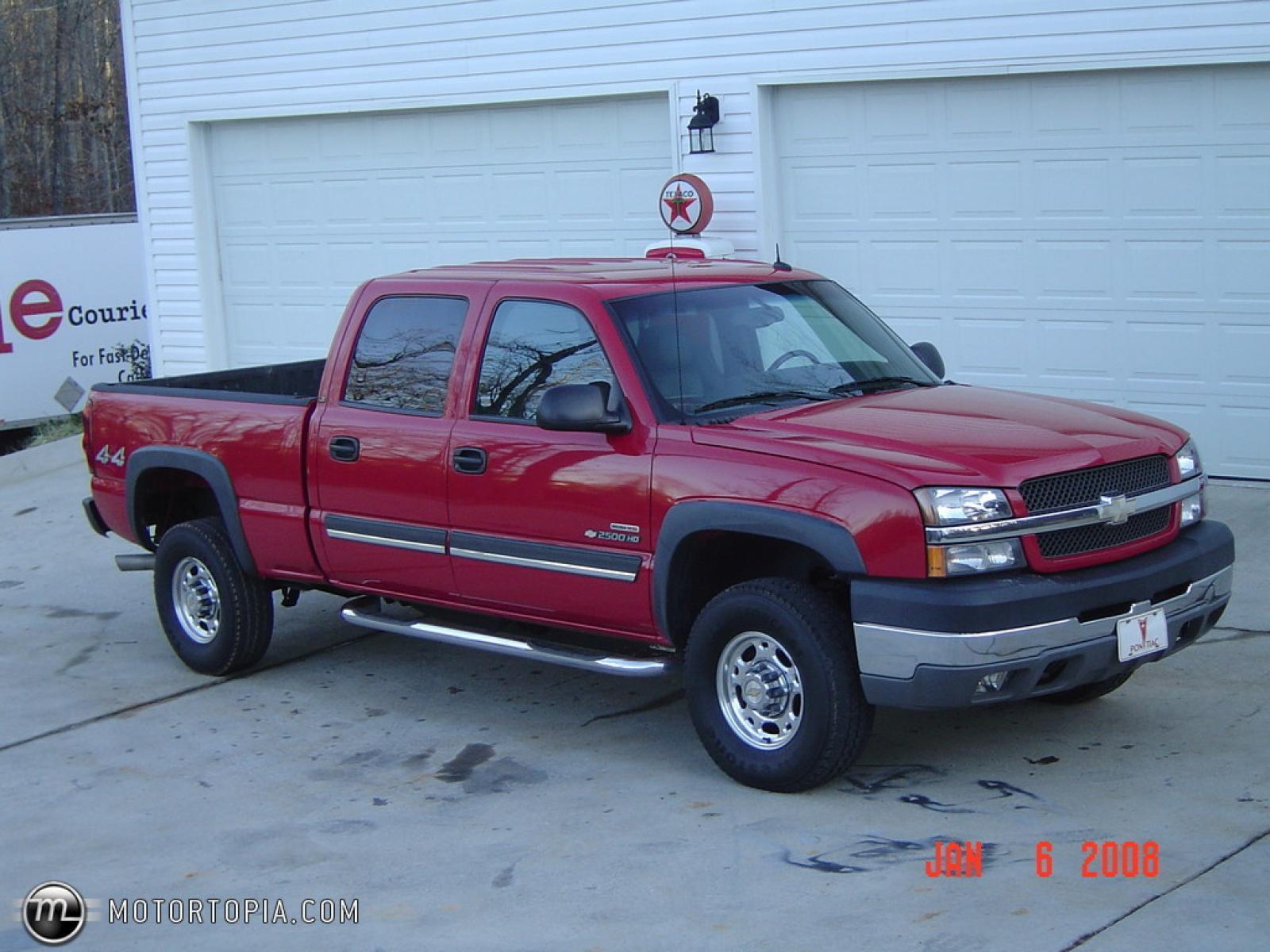 2003 Chevrolet Silverado 2500 - Information and photos - ZombieDrive