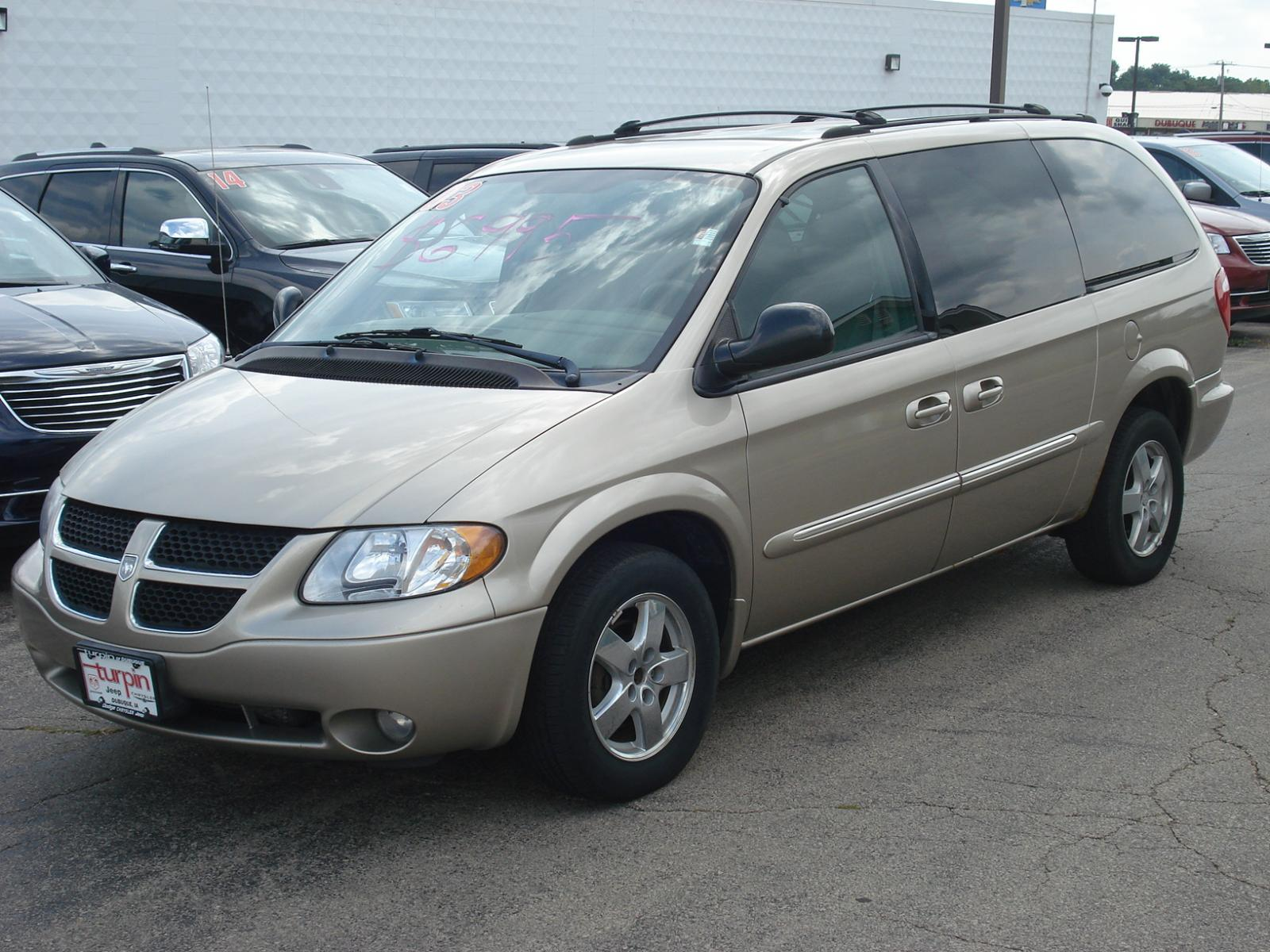 2003 dodge grand caravan information and photos. Black Bedroom Furniture Sets. Home Design Ideas
