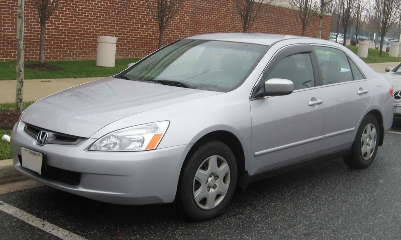 2003 honda accord sedan manual
