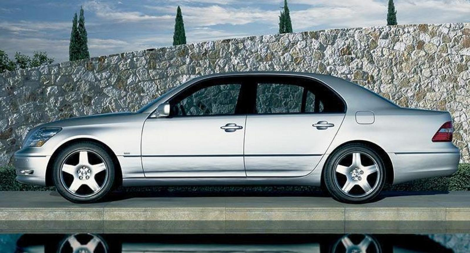 2003 lexus ls 430 information and photos zombiedrive. Black Bedroom Furniture Sets. Home Design Ideas