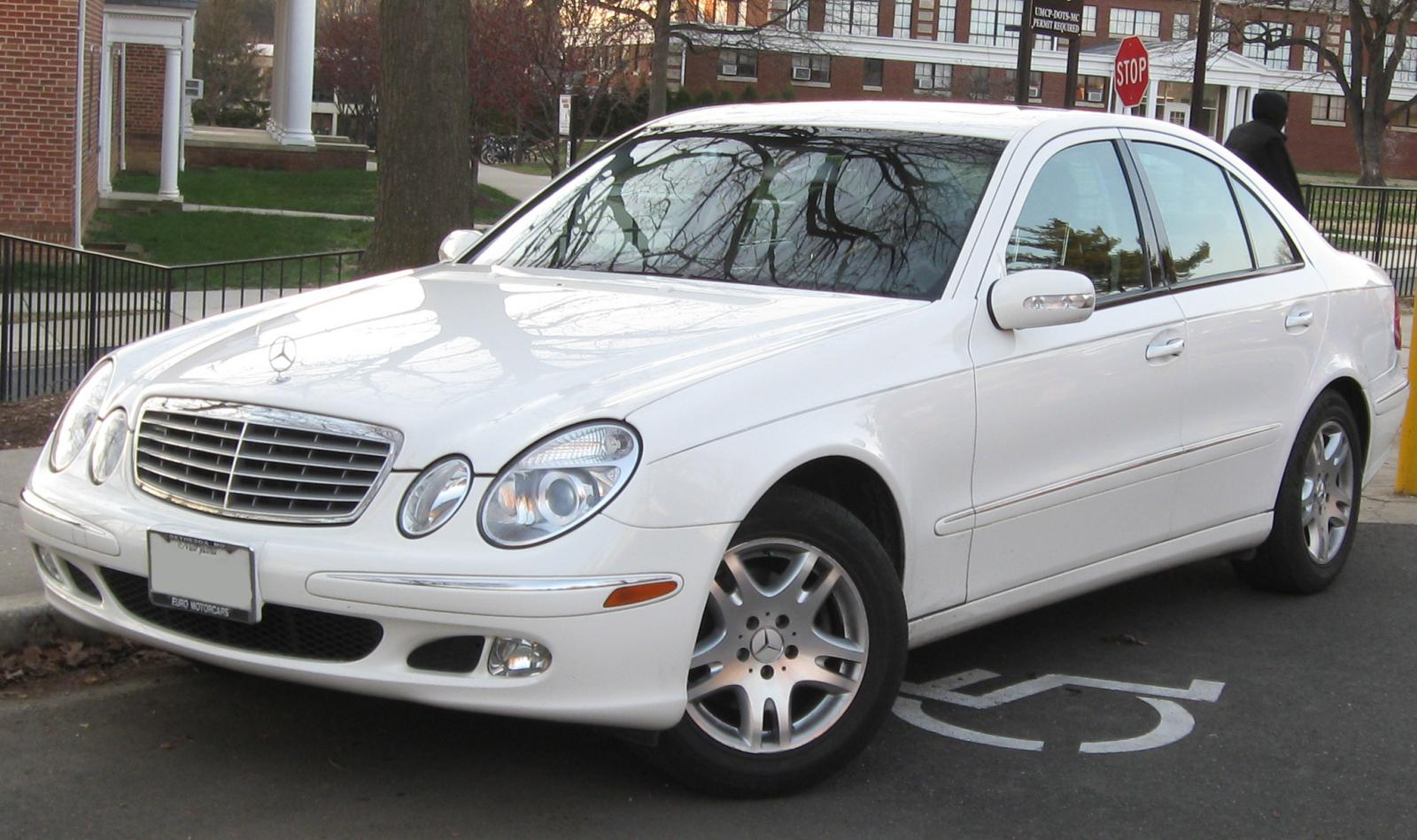 2003 mercedes benz e class information and photos zombiedrive. Black Bedroom Furniture Sets. Home Design Ideas