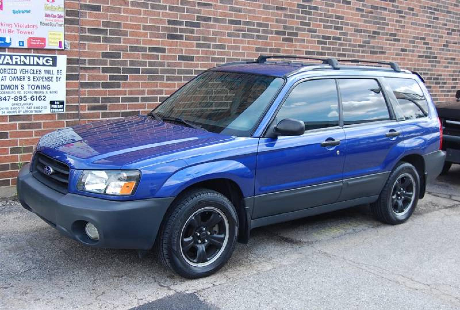 2003 subaru forester information and photos zombiedrive. Black Bedroom Furniture Sets. Home Design Ideas