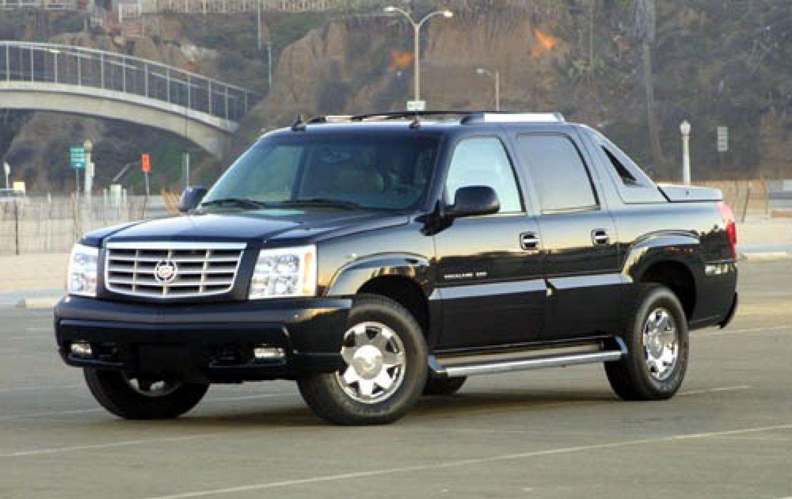2006 cadillac escalade ext information and photos zombiedrive. Black Bedroom Furniture Sets. Home Design Ideas