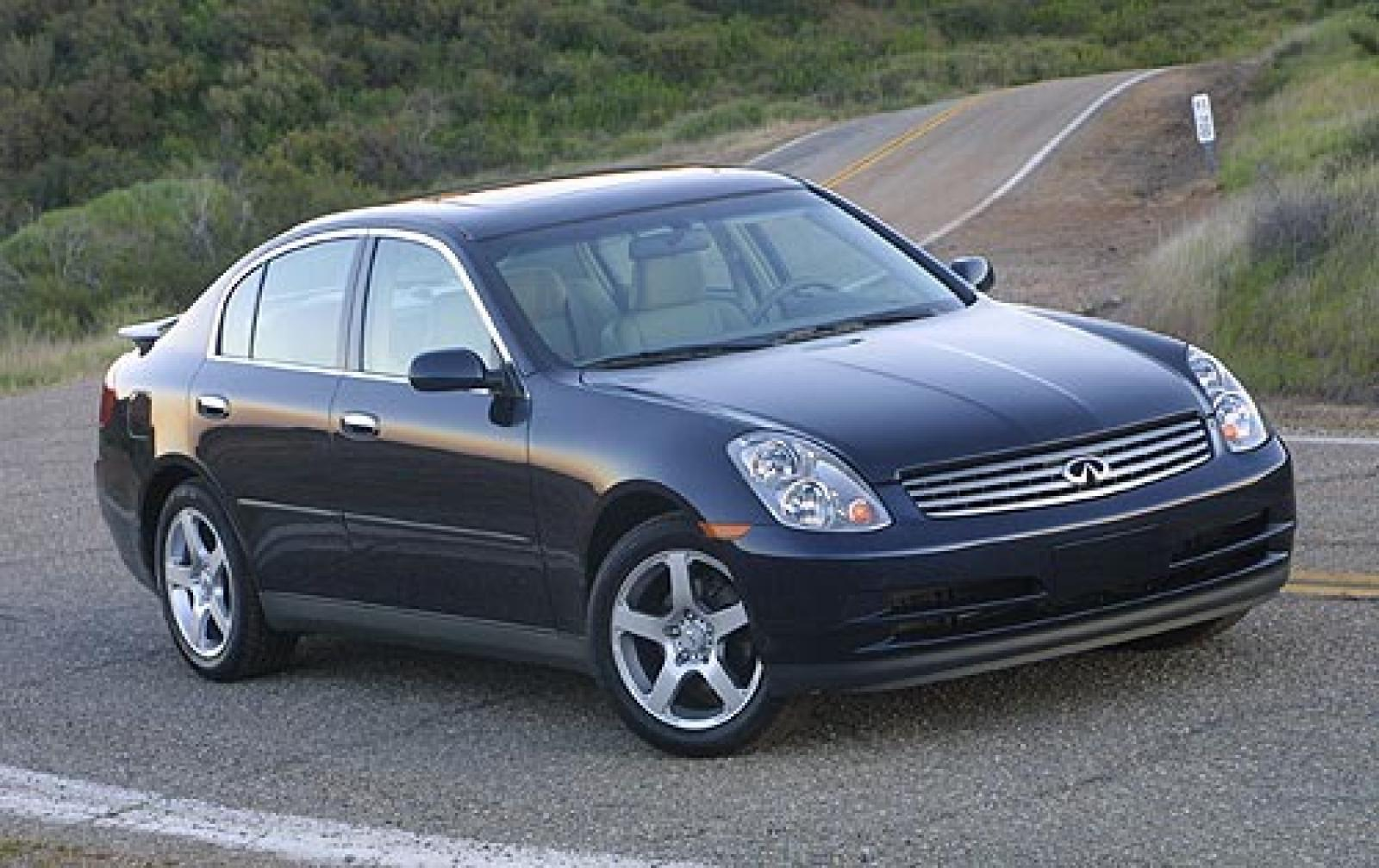 All Types infinity g35 2003 : 2003 Infiniti G35 - Information and photos - ZombieDrive