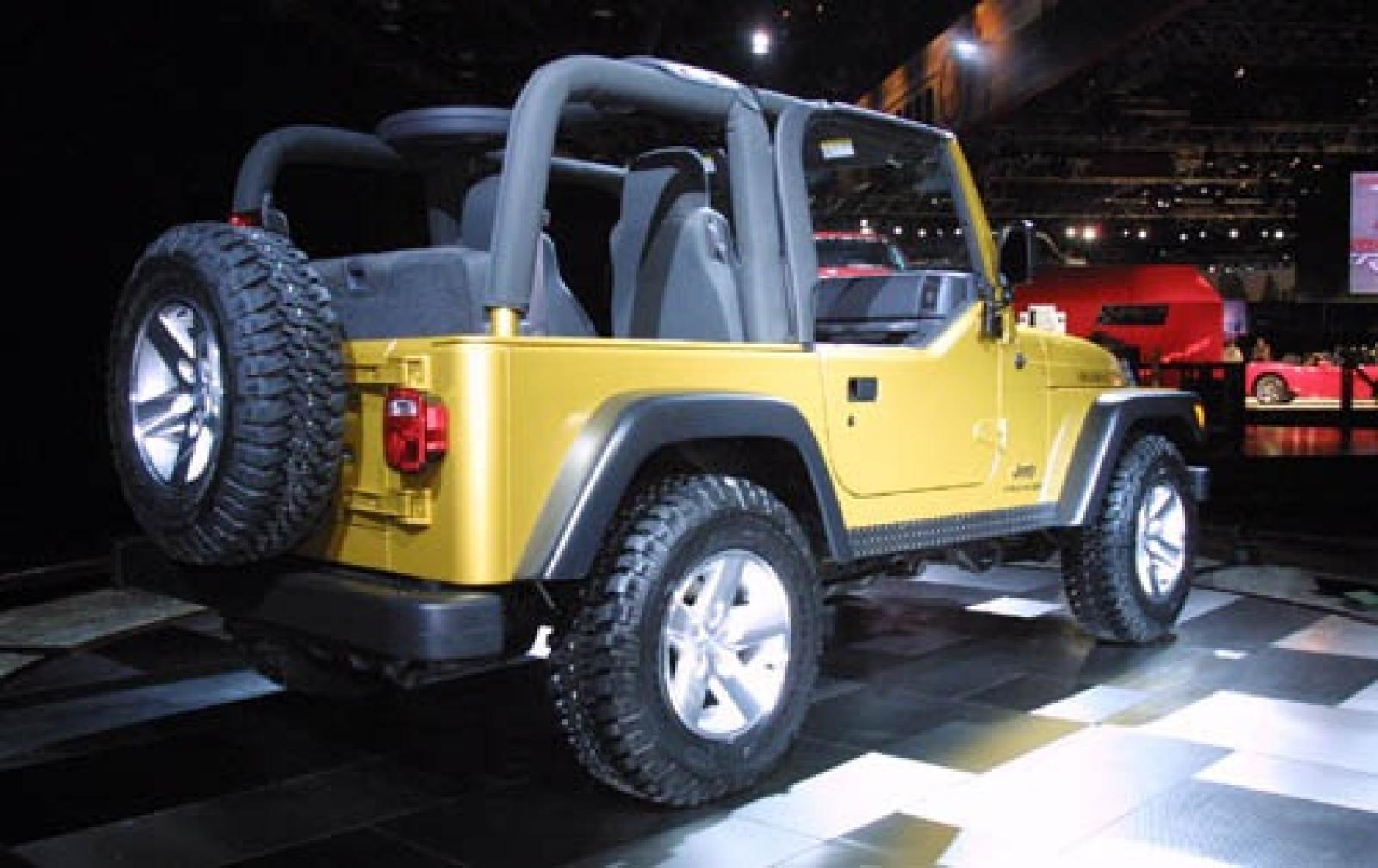 2006 jeep wrangler information and photos zombiedrive. Black Bedroom Furniture Sets. Home Design Ideas