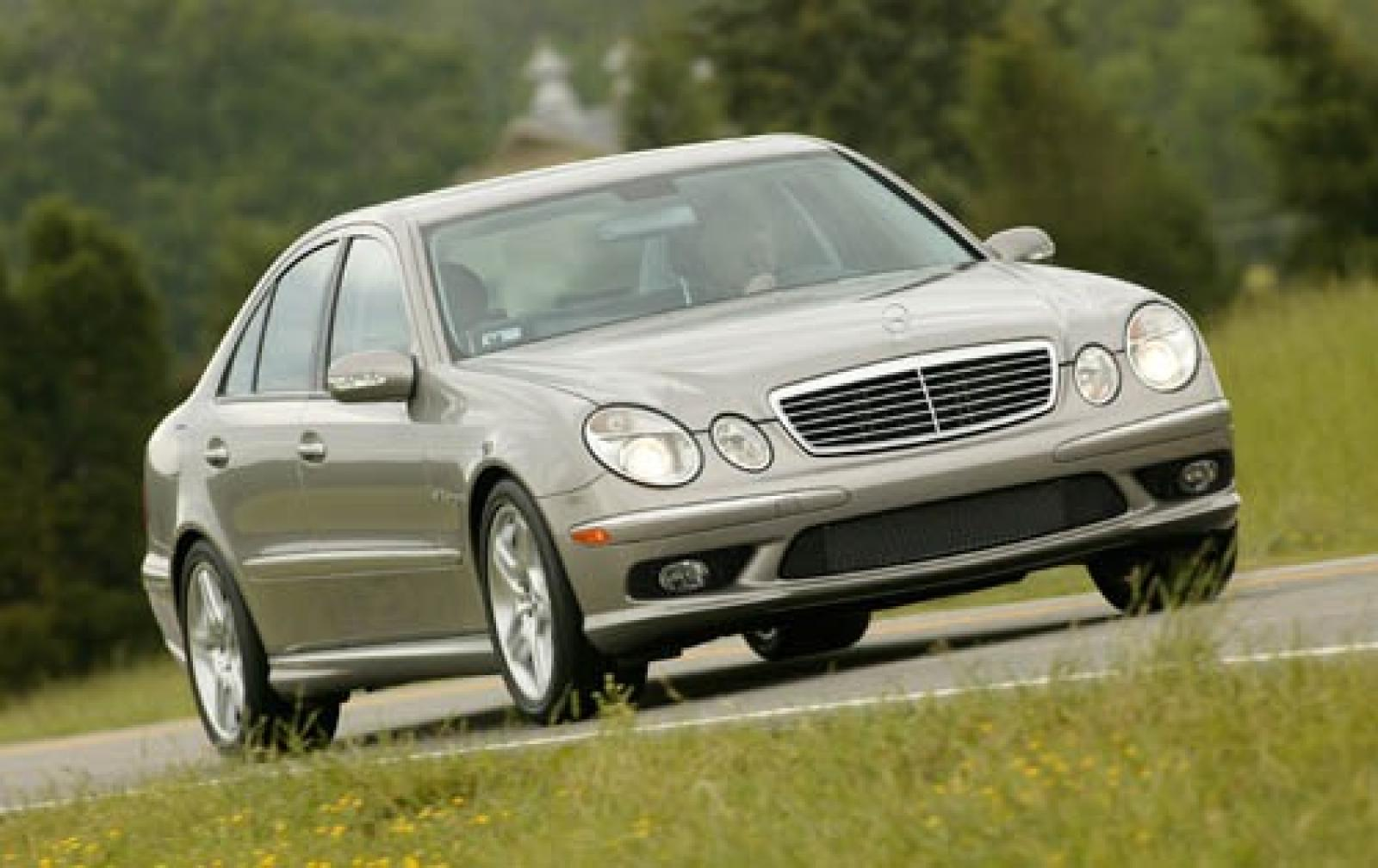 2005 mercedes benz e class information and photos for Mercedes benz 2003 e320