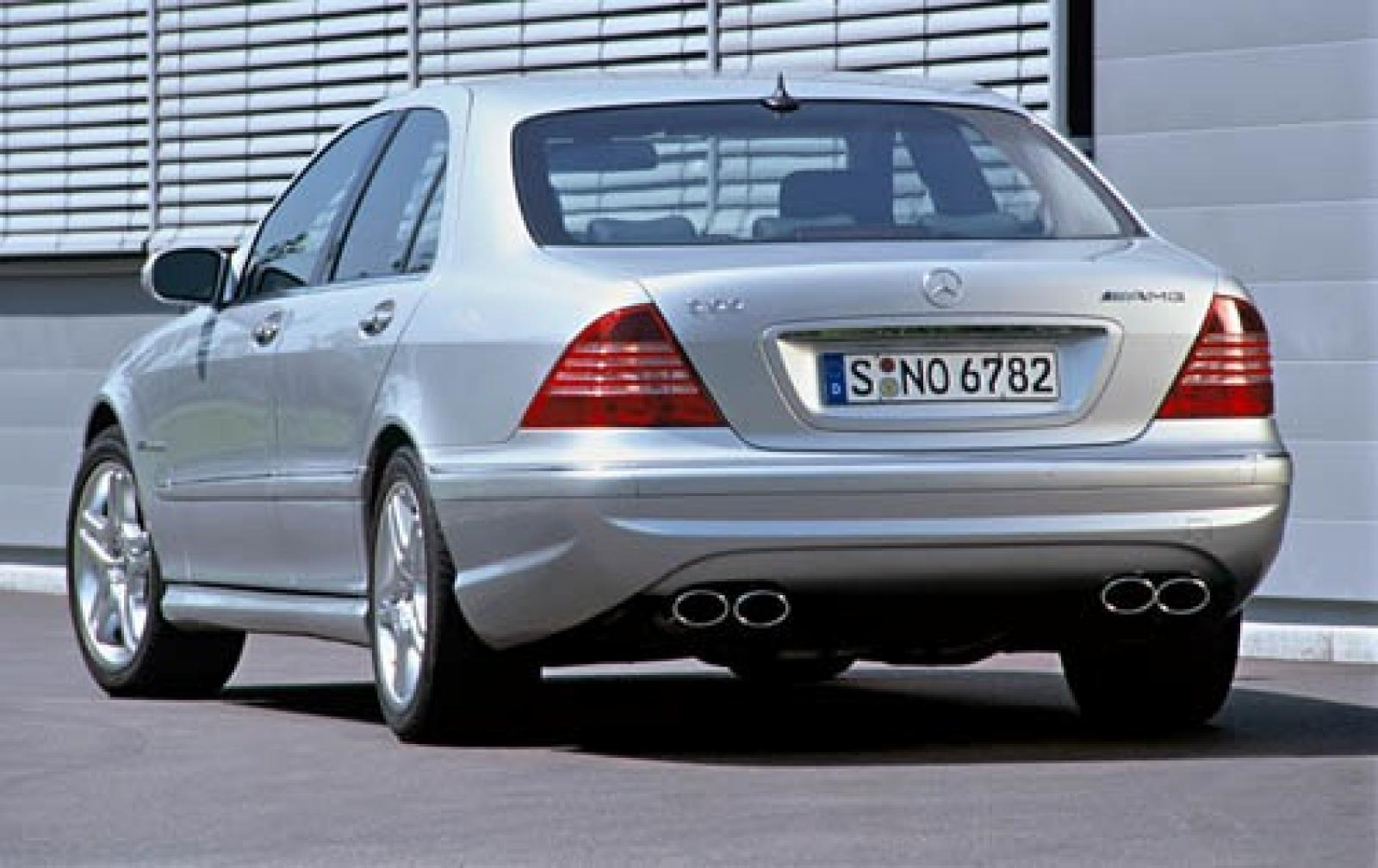 2006 mercedes benz s class information and photos for Mercedes benz s class 500