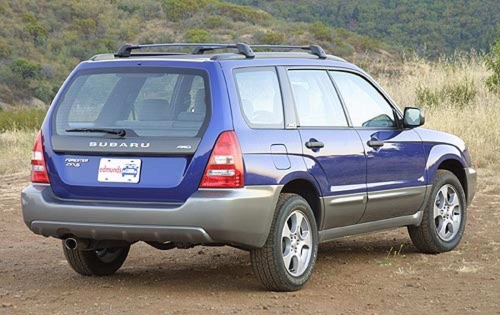 2003 Subaru Forester Information And Photos Zombiedrive