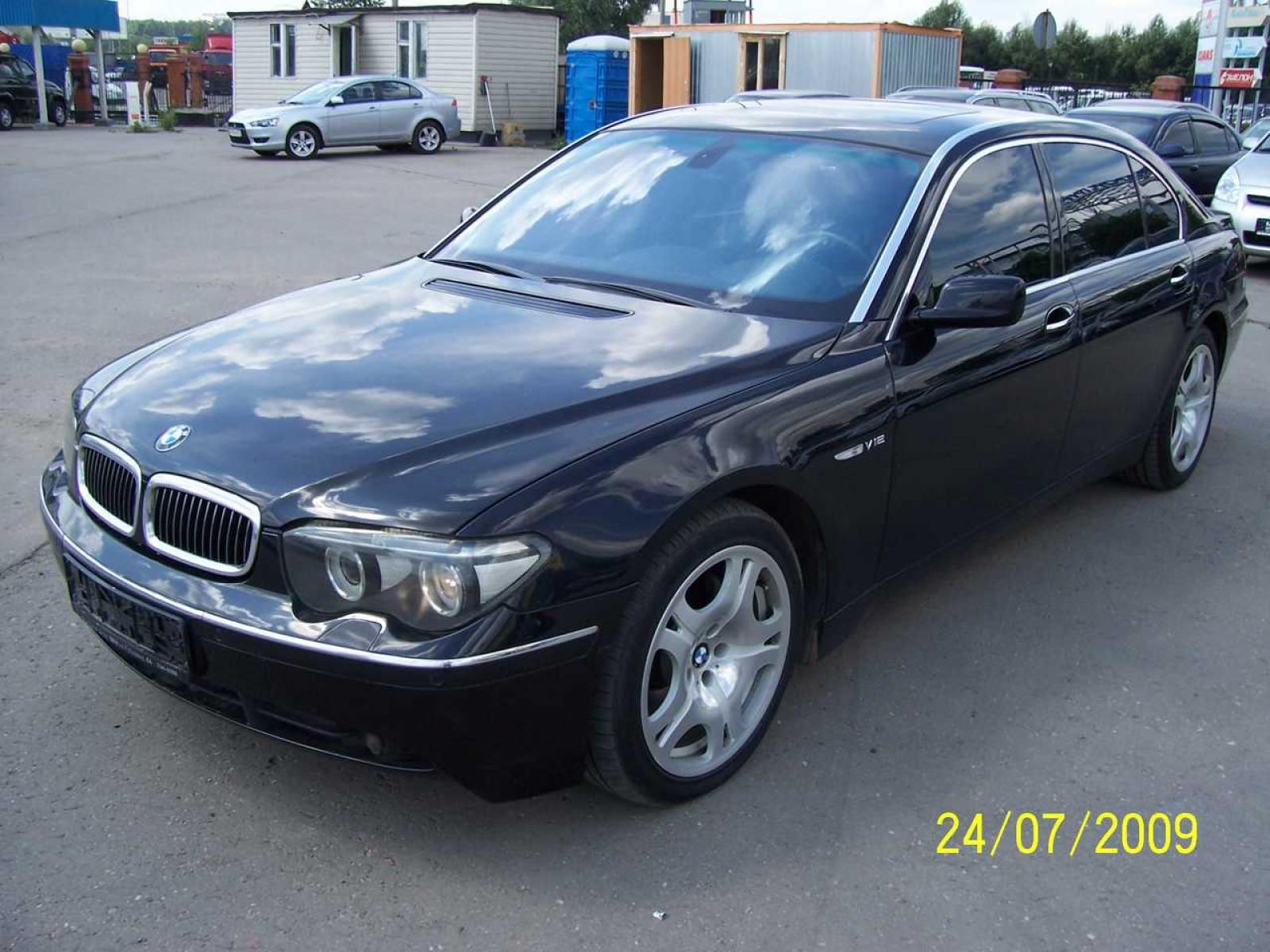 2004 bmw 7 series information and photos zomb drive. Black Bedroom Furniture Sets. Home Design Ideas