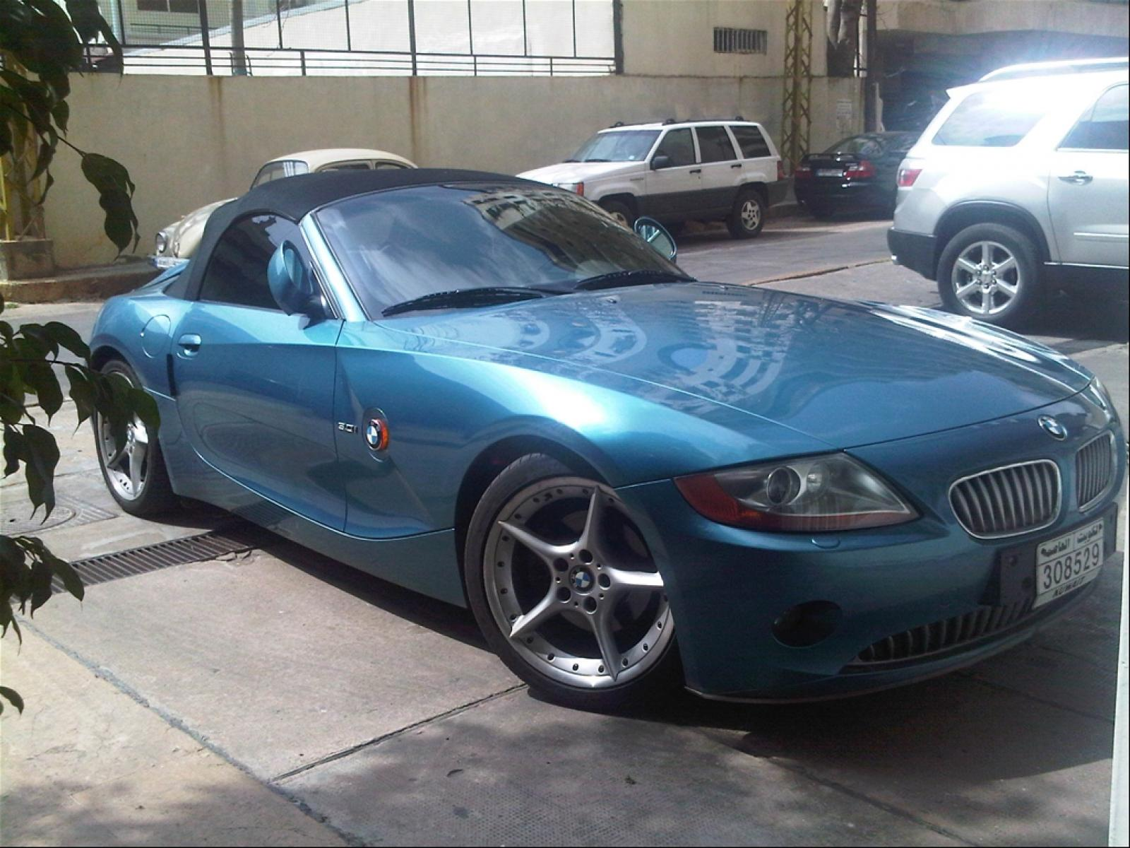 2004 bmw z4 information and photos zombiedrive. Black Bedroom Furniture Sets. Home Design Ideas