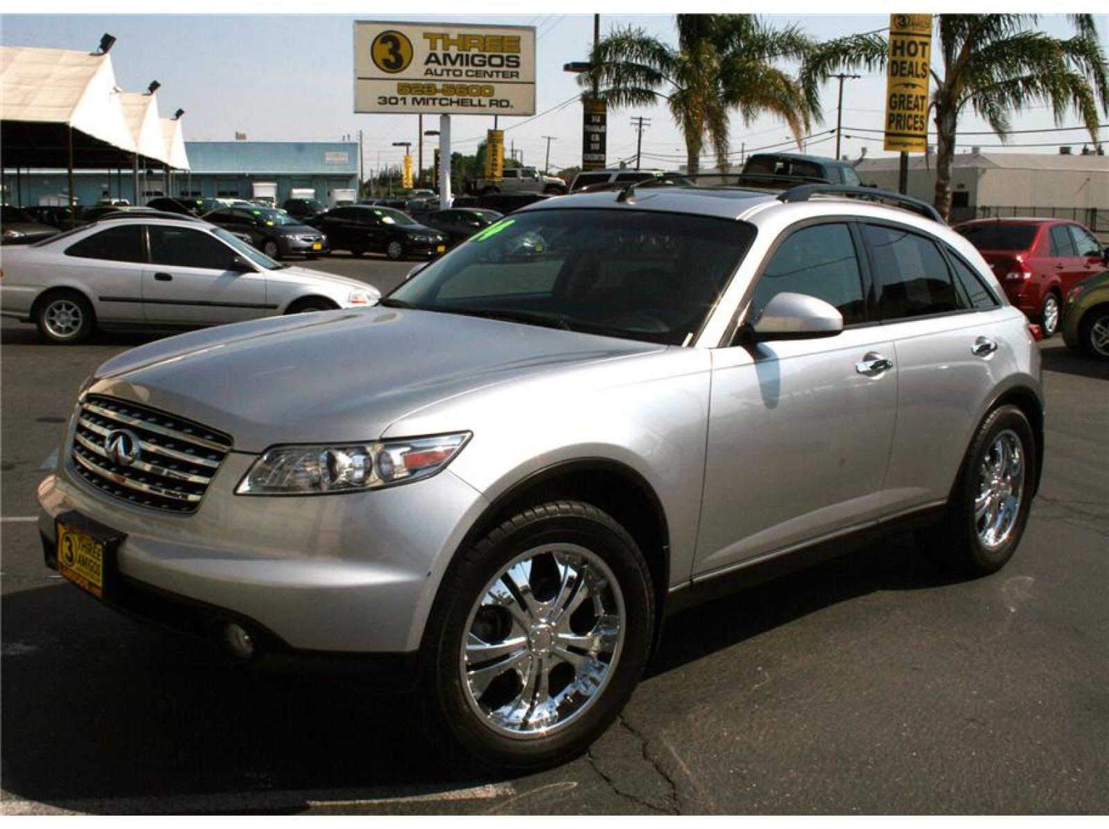 2004 infiniti fx35 information and photos zombiedrive. Black Bedroom Furniture Sets. Home Design Ideas