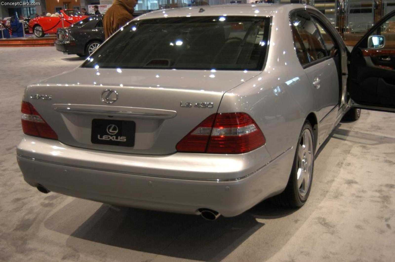 2004 Lexus LS 430 Information And Photos ZombieDrive