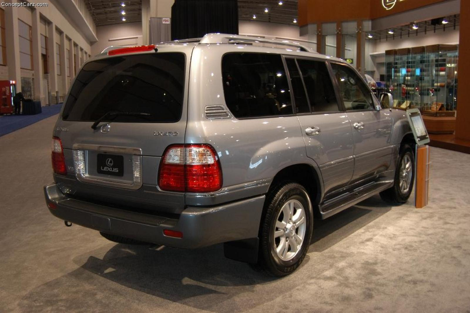 2004 lexus lx 470 information and photos zombiedrive. Black Bedroom Furniture Sets. Home Design Ideas