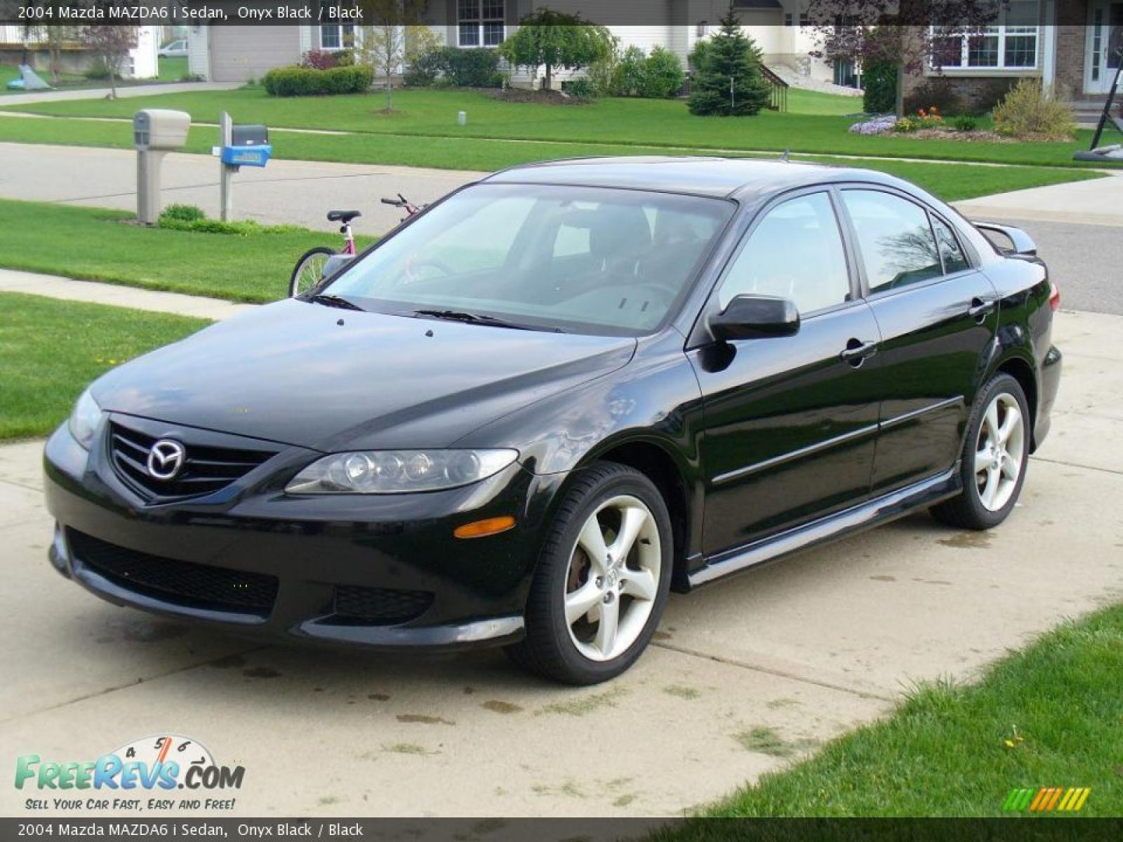 2004 mazda mazda6 information and photos zombiedrive. Black Bedroom Furniture Sets. Home Design Ideas